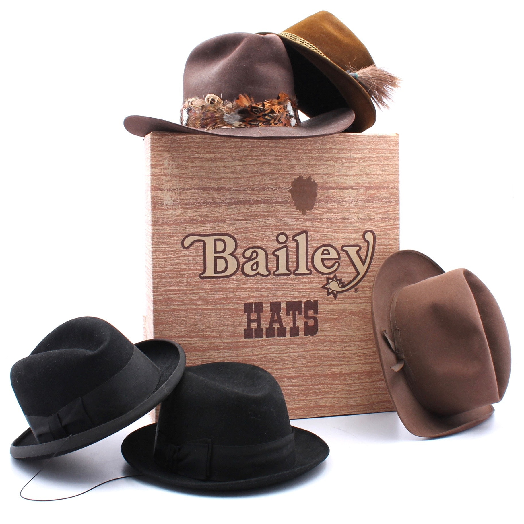 Men's Hats Featuring Stetson, Bee and Dobbs New York