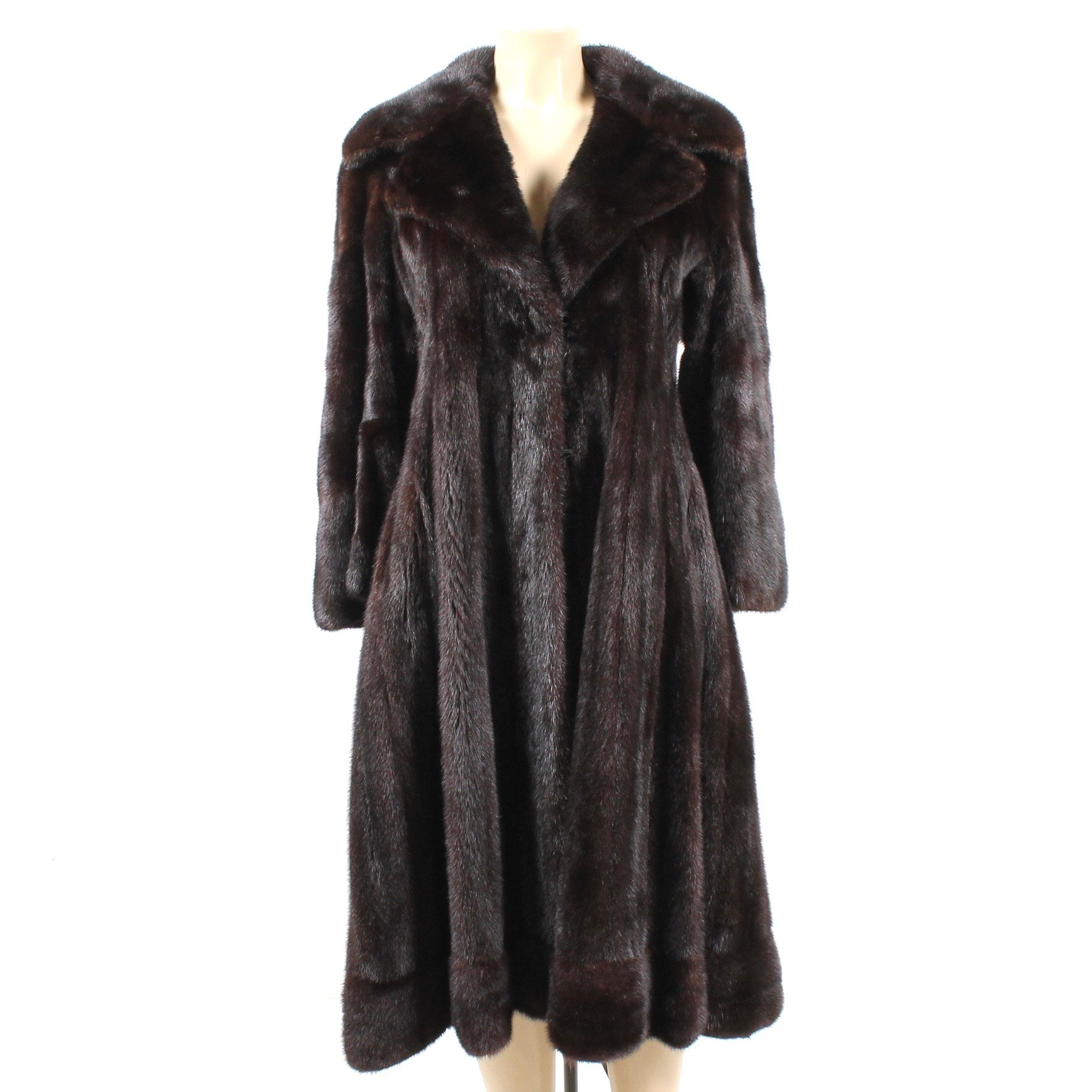 Vintage Ranch Mink Fur Coat from Manor-Feldman