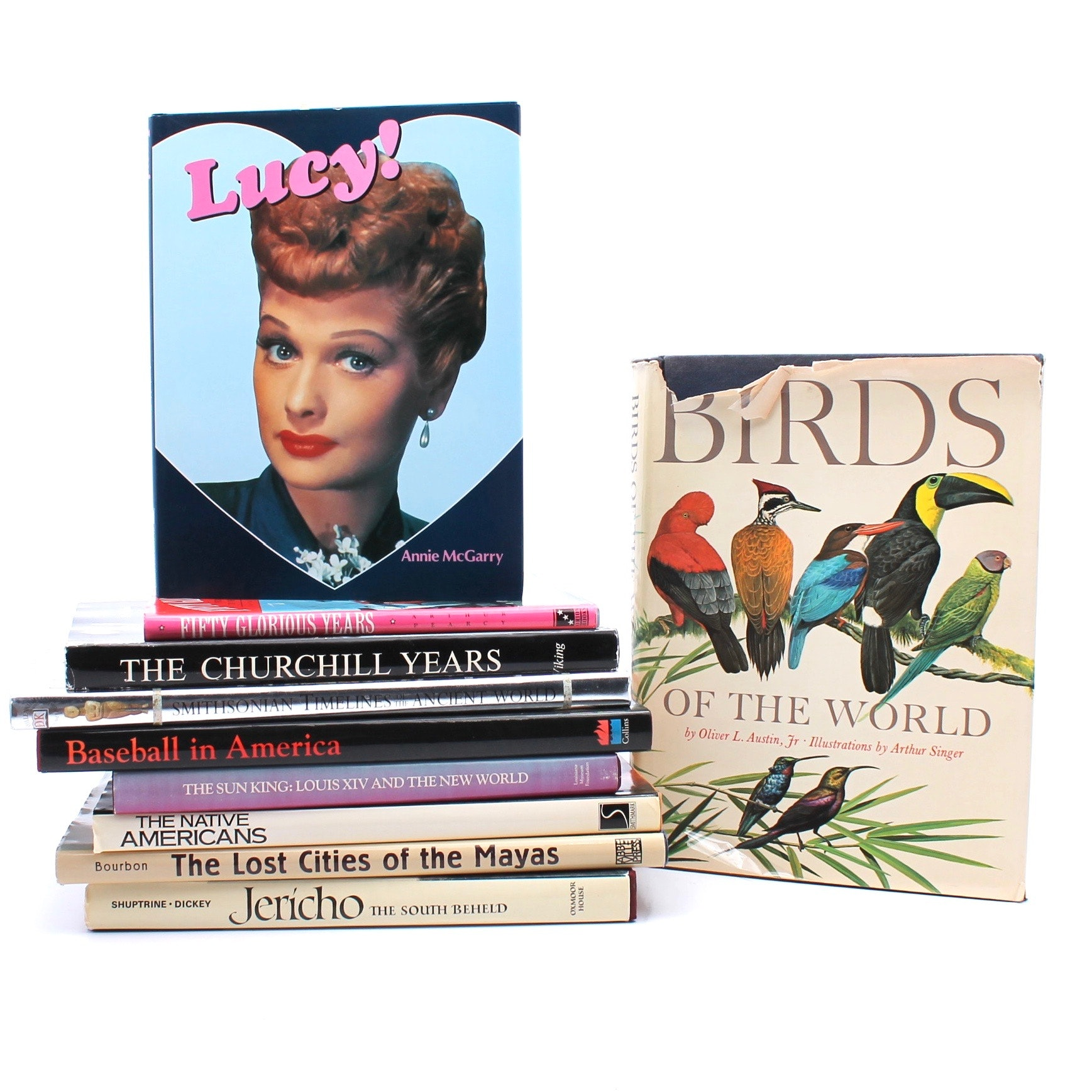 Coffee Table Books Including Historical Subject Matter