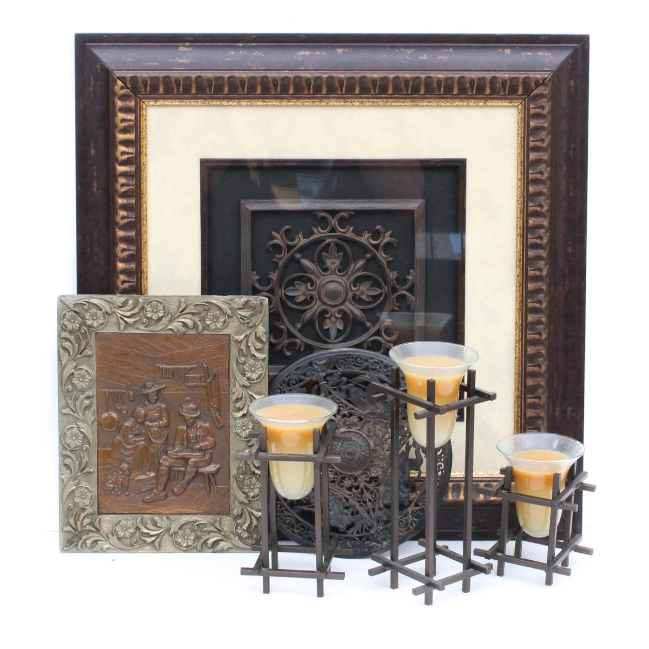 Antique-Style Decor in Metal