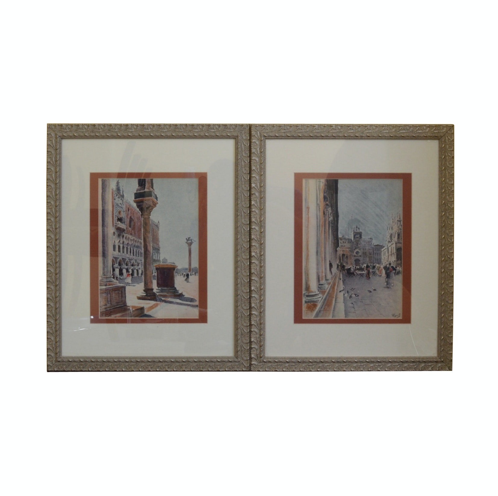 Pair of Lithographs by Pierre Vignal