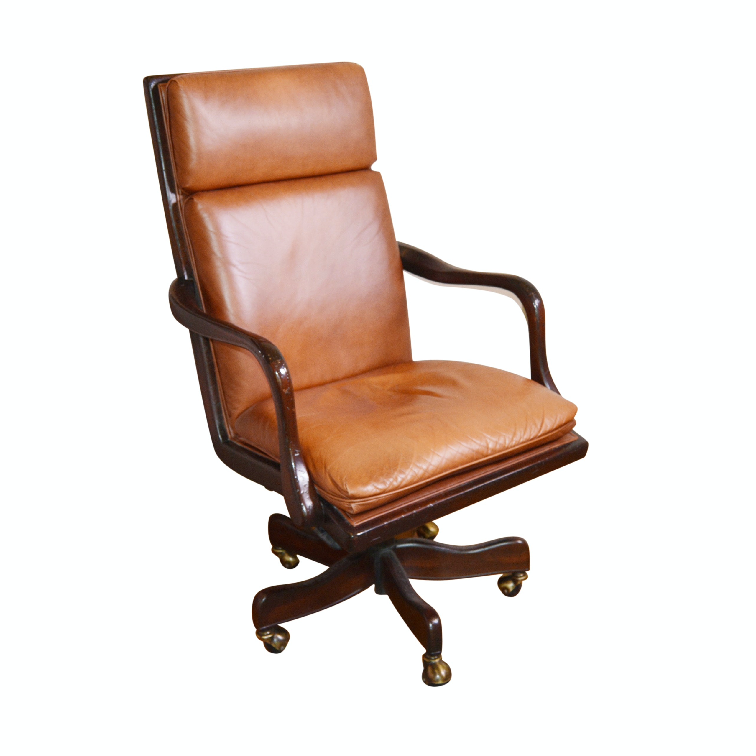 Hancock & Moore Leather Swivel Executive Chair