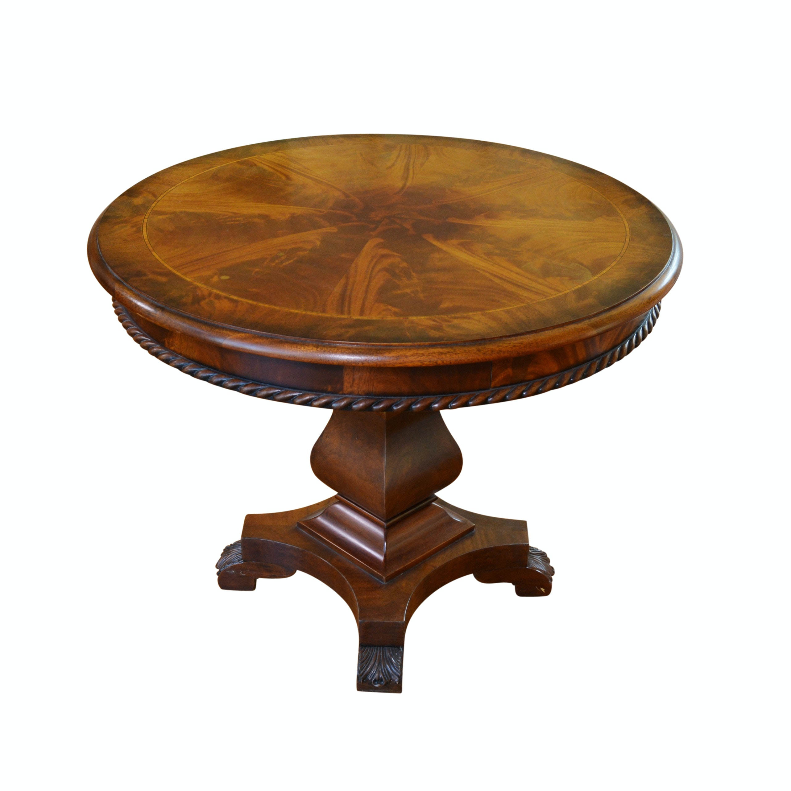 "Henredon ""Historic Natchez"" Round Accent Table"