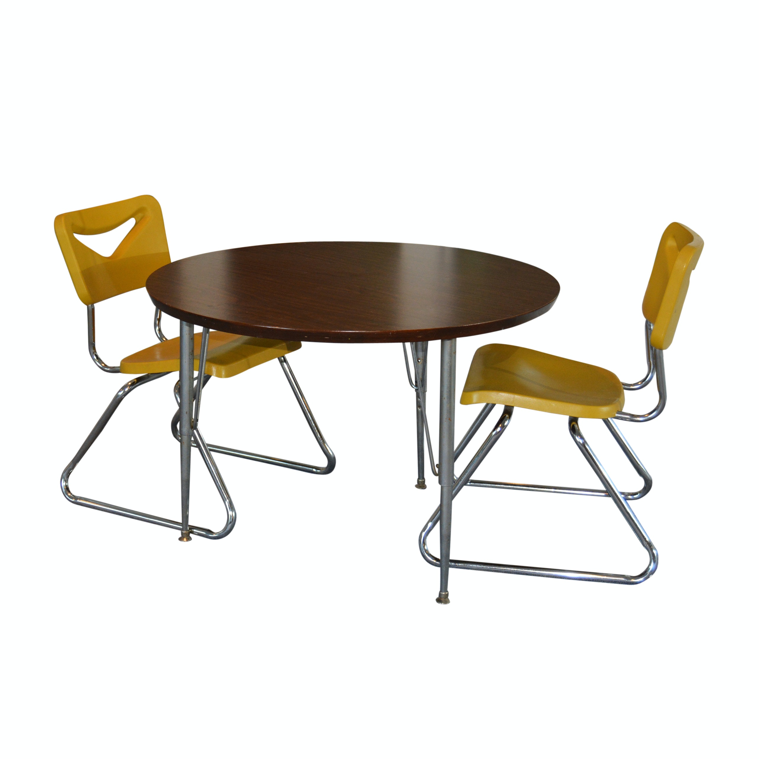 Student Round Table and Chairs