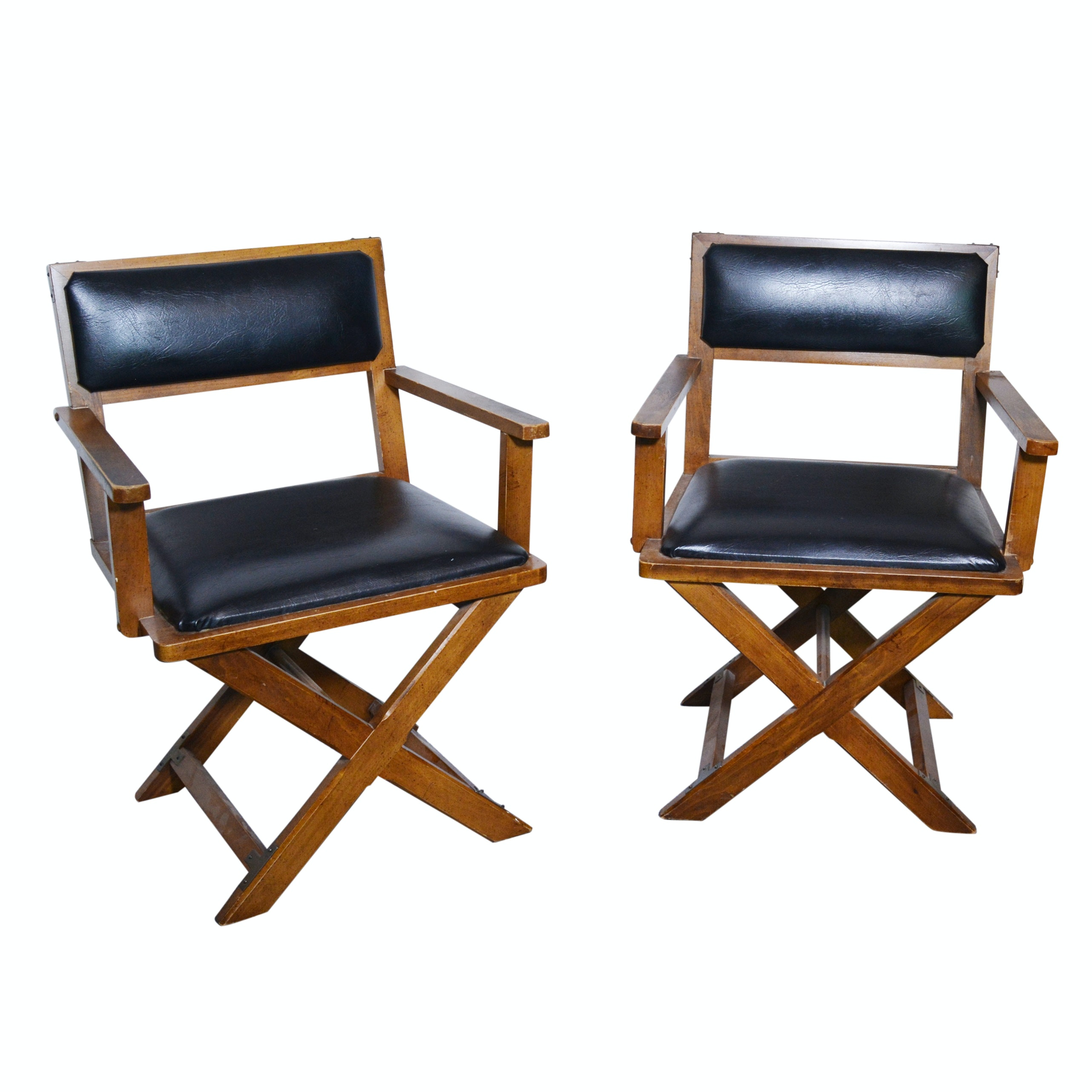 Bernhardt Fixed Director Style Armchairs