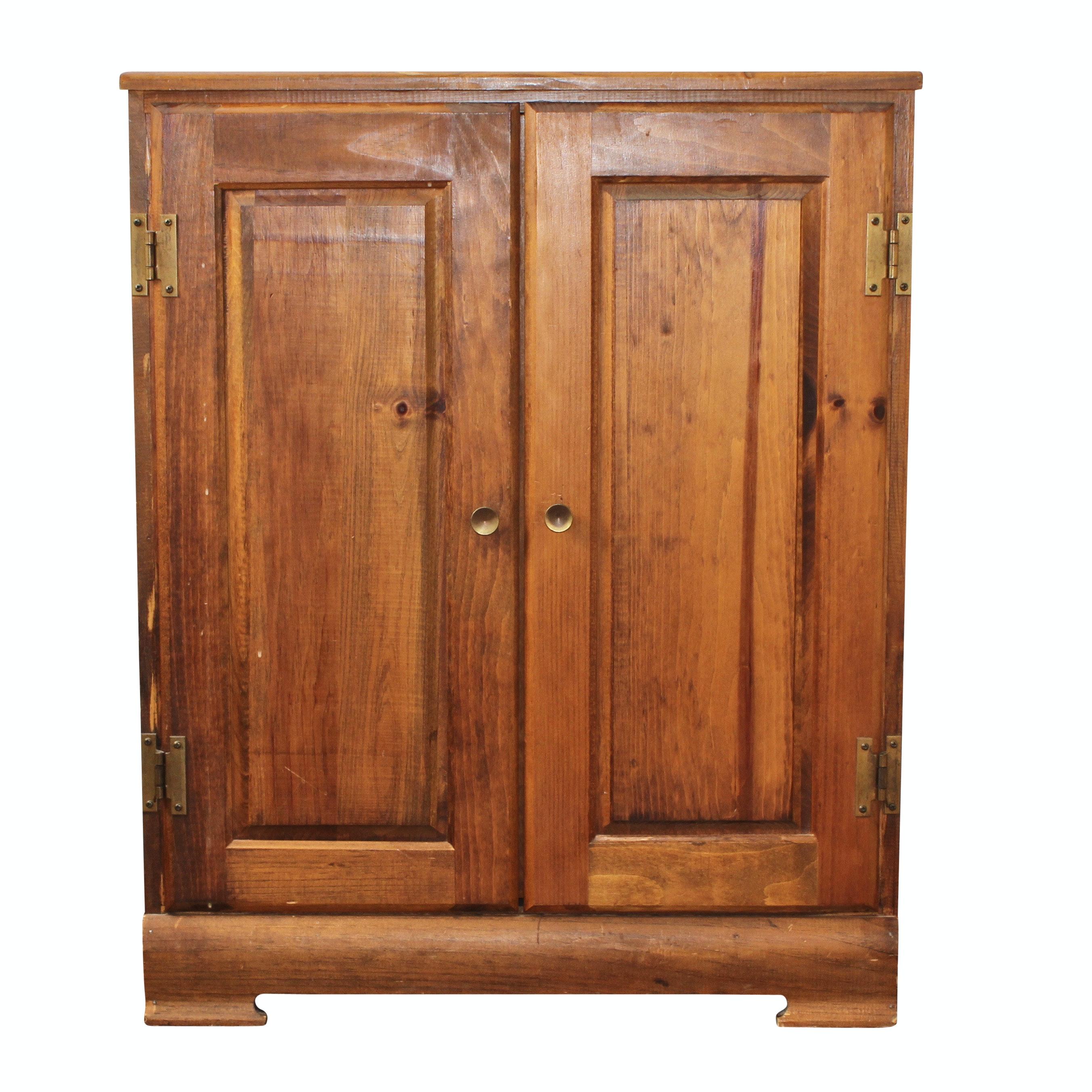 Pine Wooden Side Cabinet