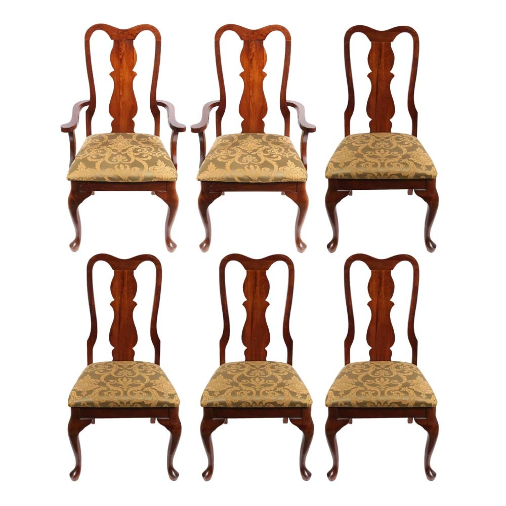 Broyhill Queen Anne Style Dining Chairs