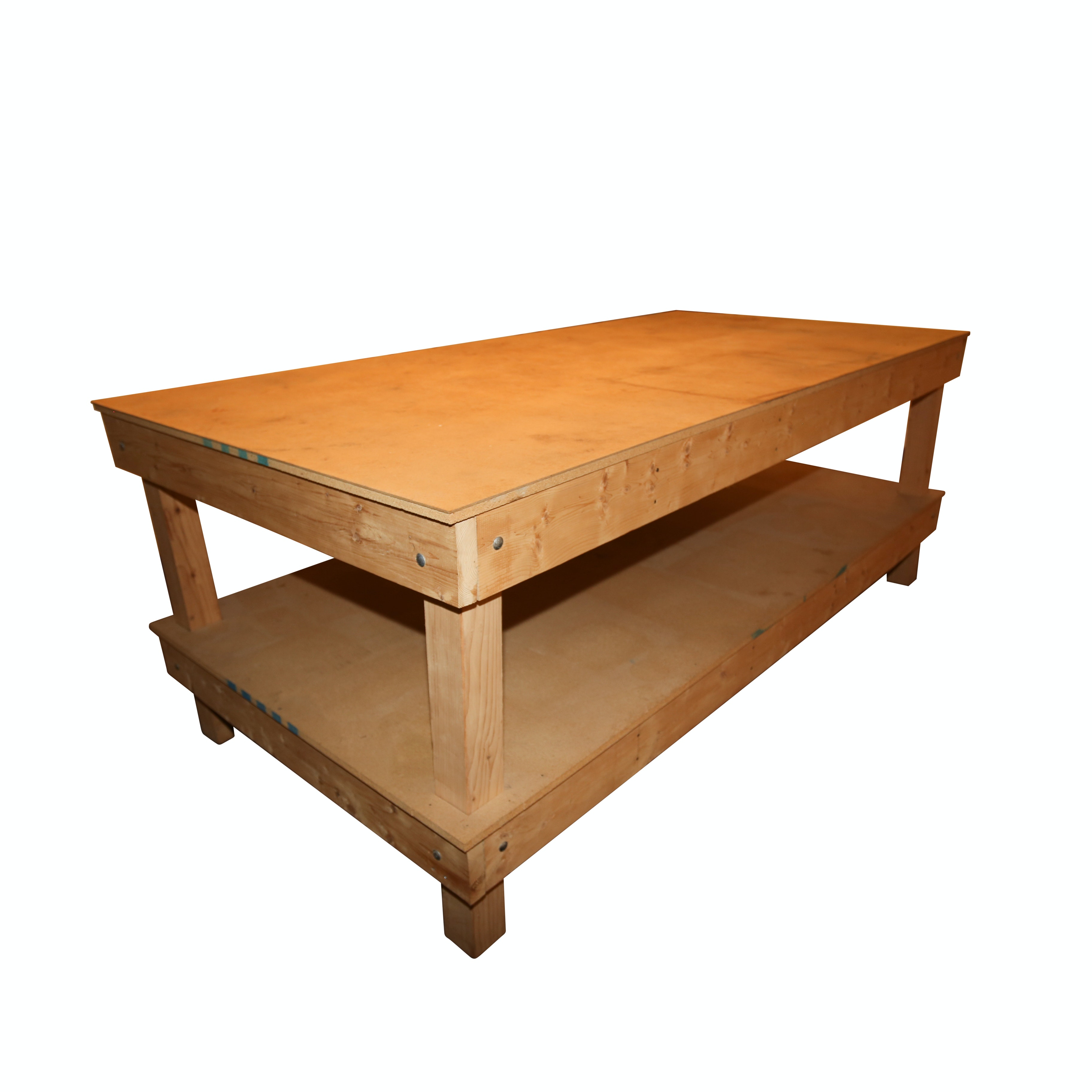 Large Wooden Work Table