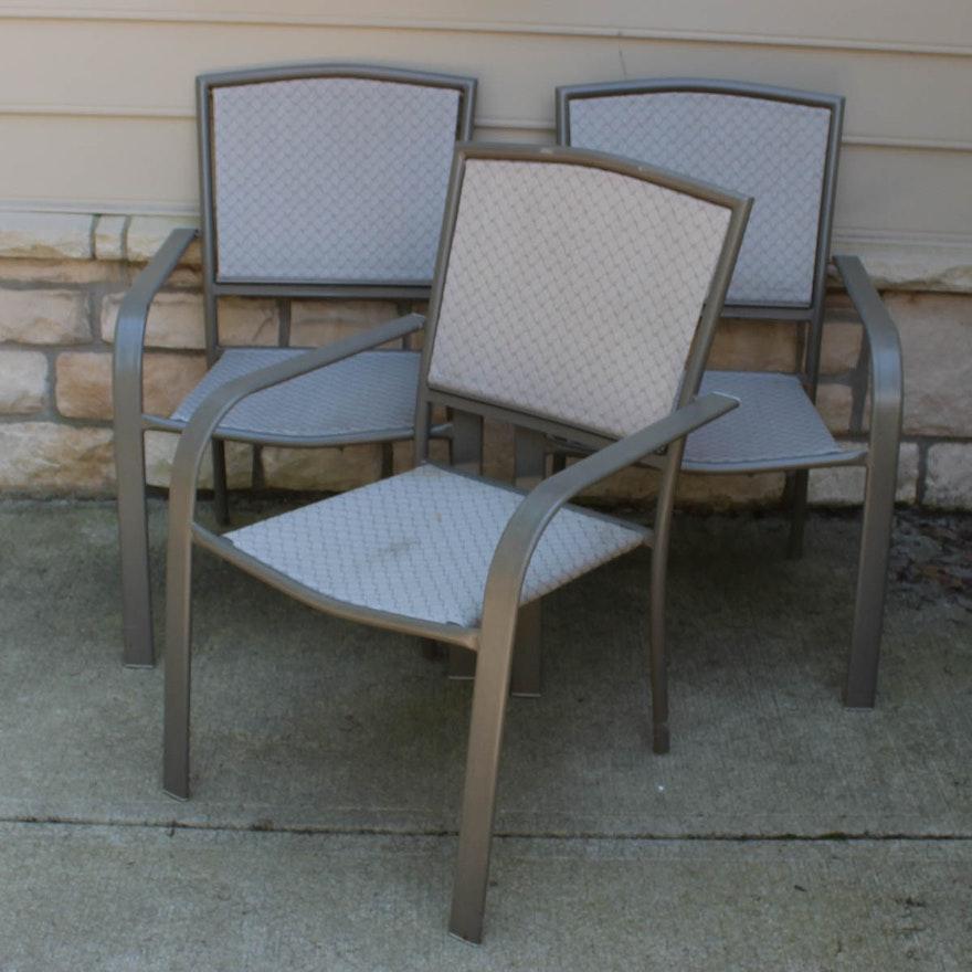 Metal Frame Patio Chairs Ebth