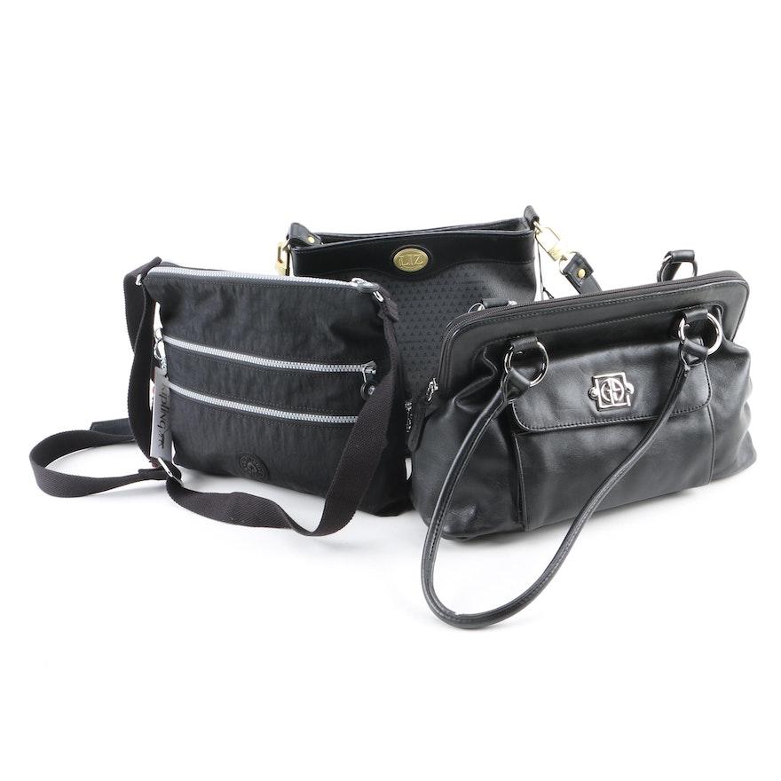97e039c7d6e Black Handbags Including Kipling, Giani Bernini and Liz Claiborne : EBTH