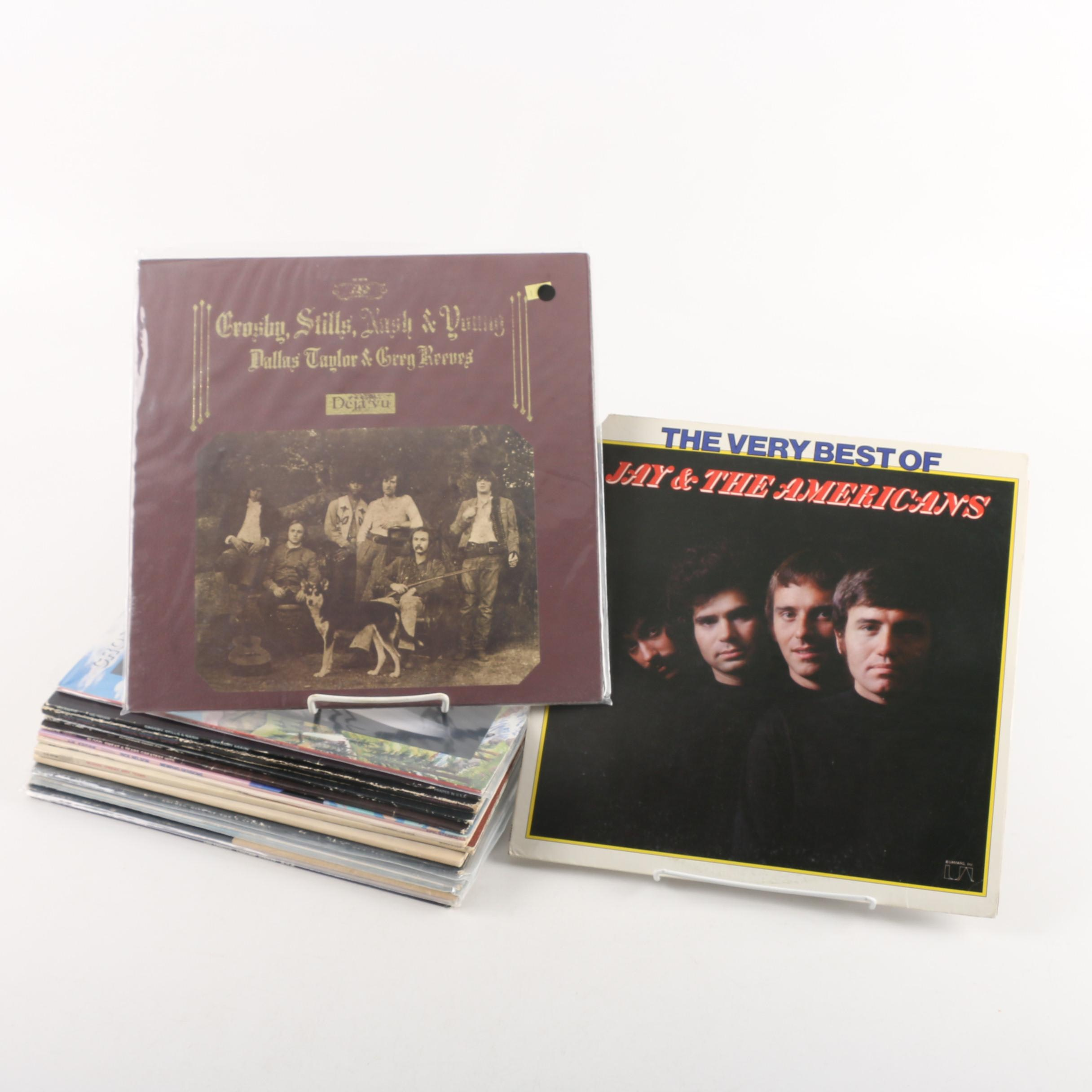 Vintage Rock and Pop Records Including Grateful Dead and The Ink Spots