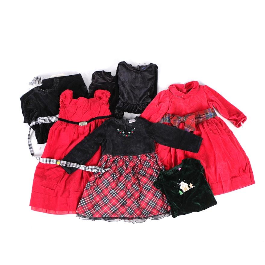 S Holiday Dresses Including Ralph Lauren Hanna Anderson Laura Ashley Gap