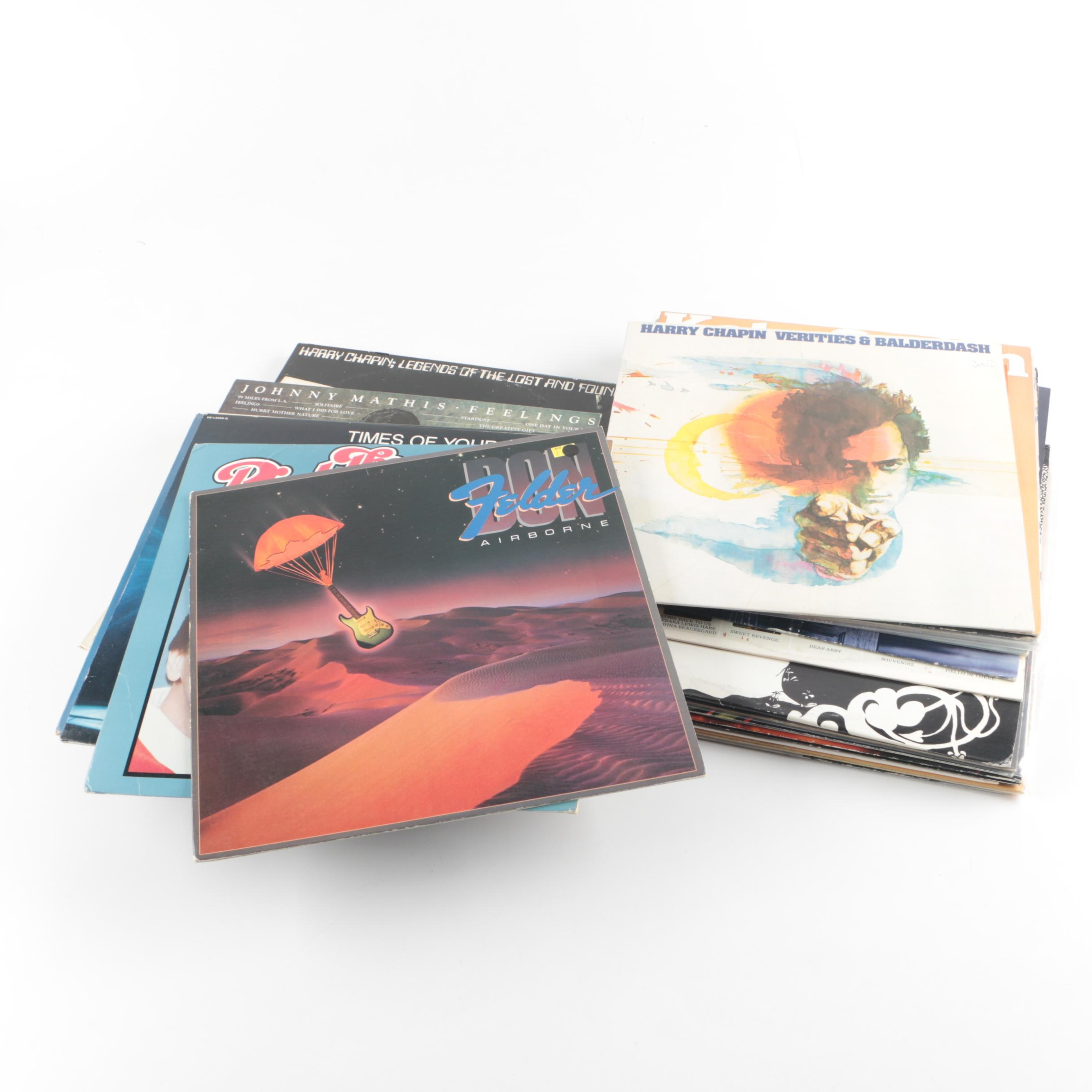 Vintage Songwriter, Pop and Rock Records Including John Prine and Procol Harum