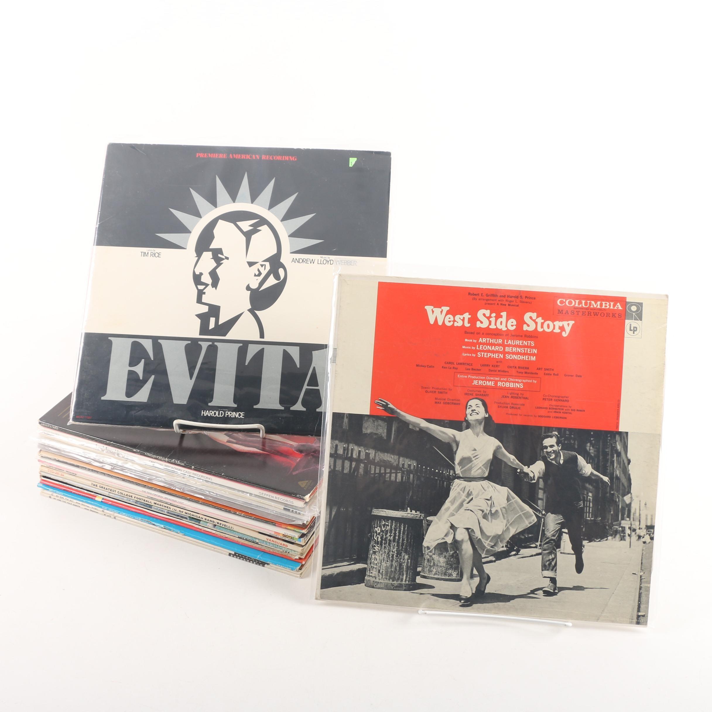 Vintage Soundtrack, Novelty and Pop Records Including Jimmy Durante