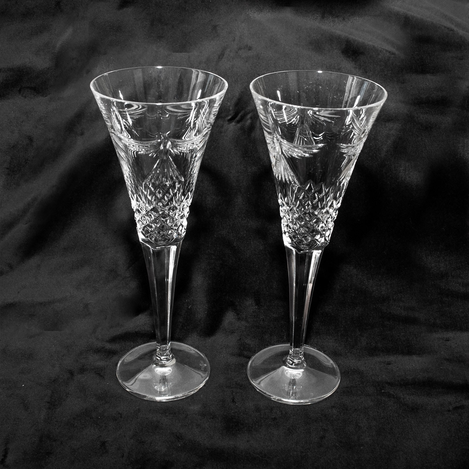 Waterford Crystal Champagne Toasting Flutes