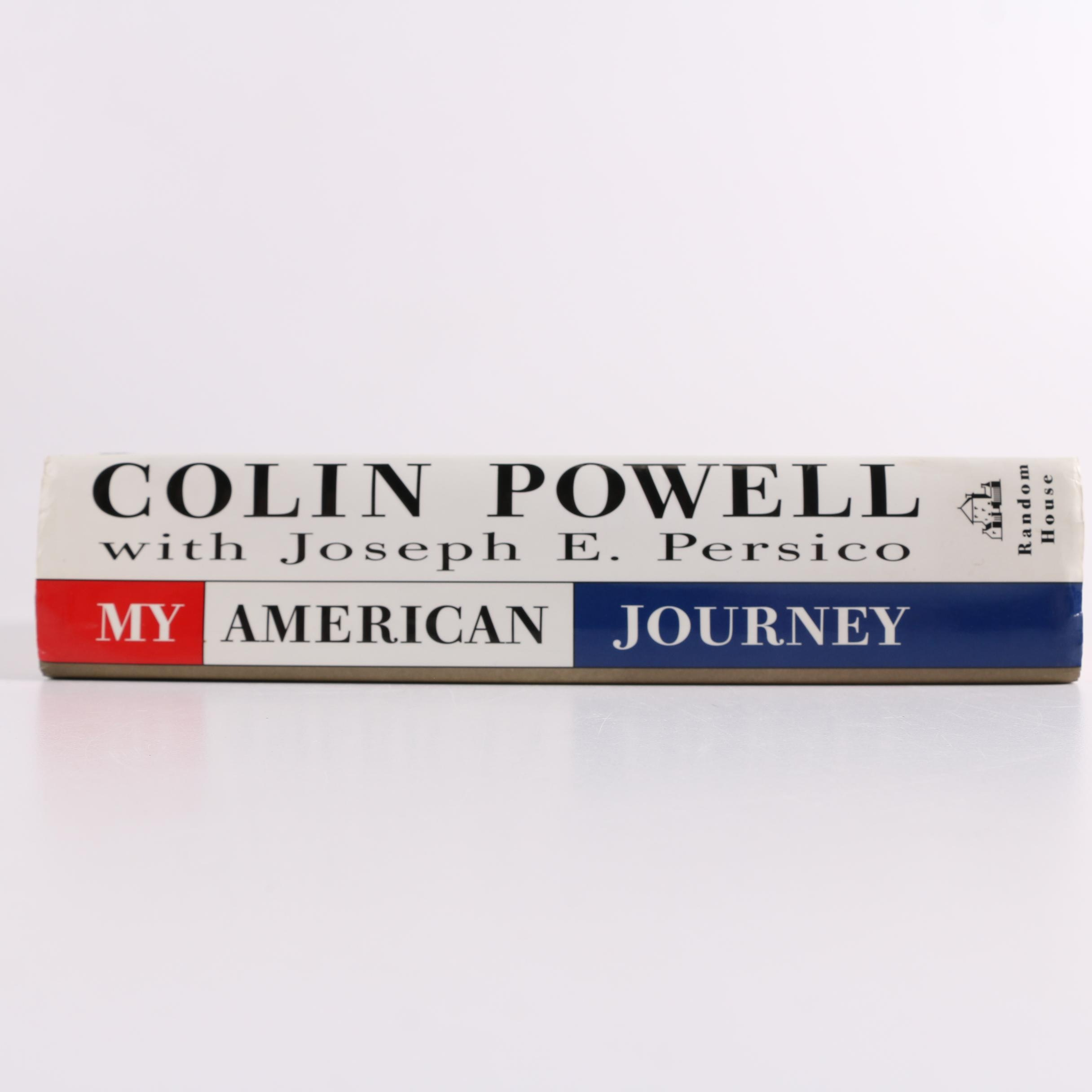 """1995 Signed """"My American Journey"""" by Colin L. Powell with Joseph E. Persico"""