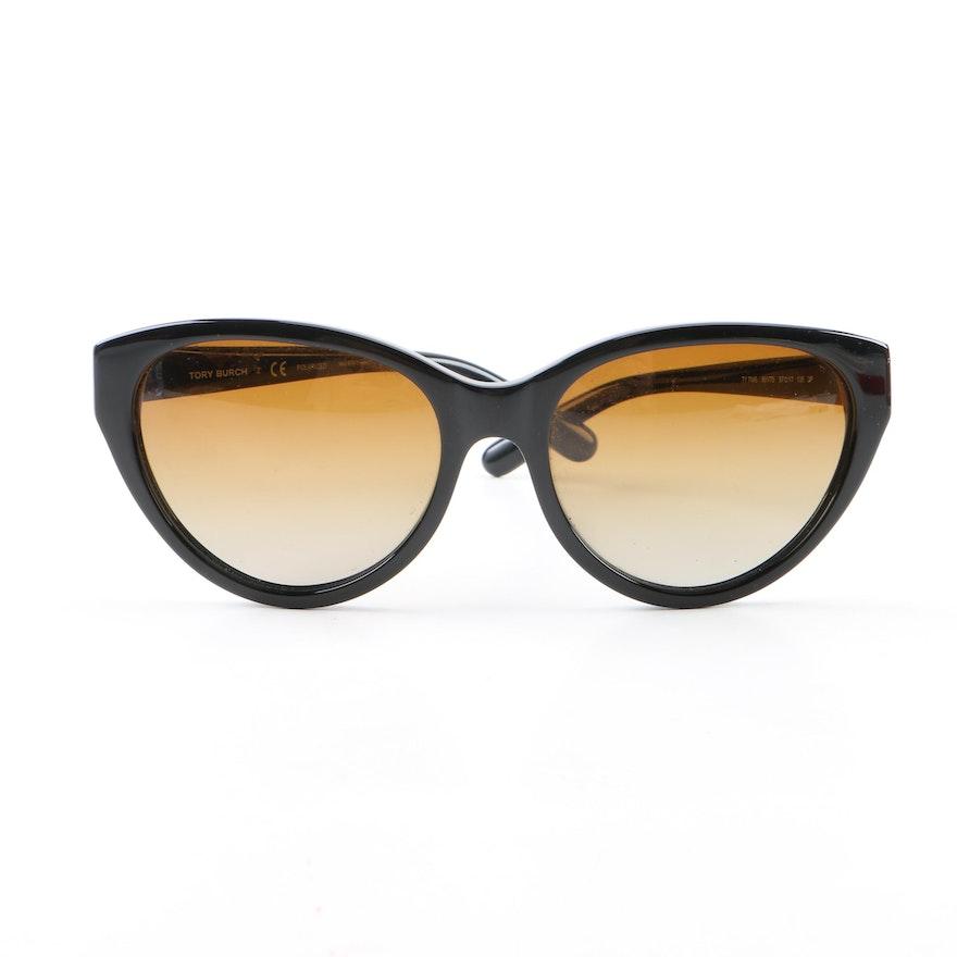 b295b2d994 Tory Burch TY 7045 Cat Eye Polarized Sunglasses with Case   EBTH