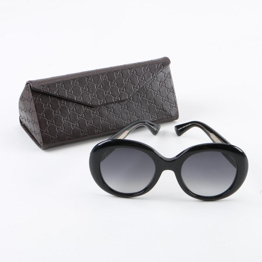 9d08f21b0e7 Gucci GG3815 S Round Sunglasses with Case   EBTH