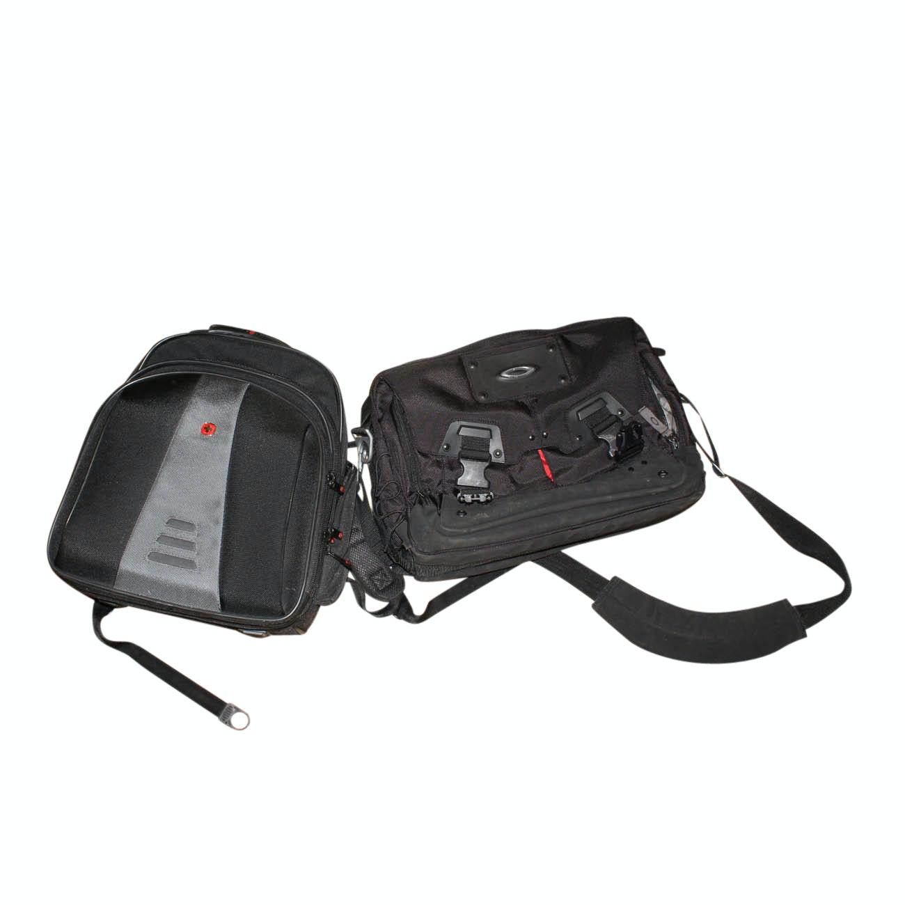 Swiss Gear and Oakley Bags