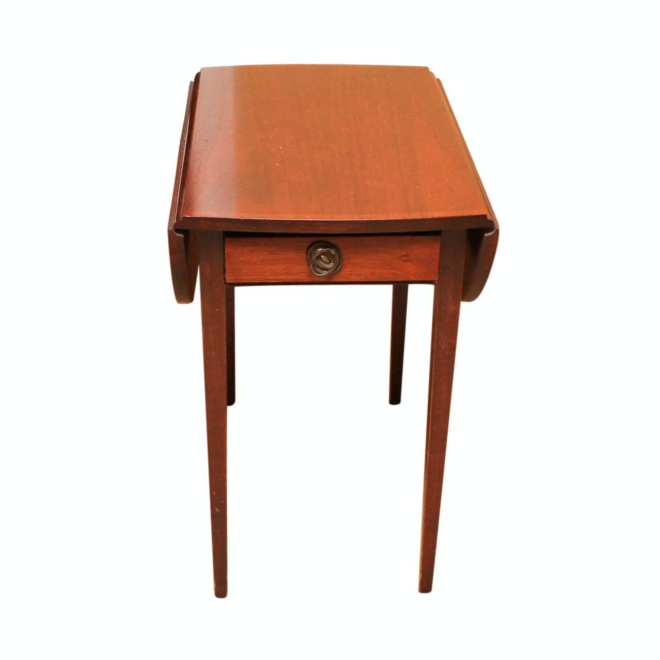 Vintage Drop-Leaf Accent Table