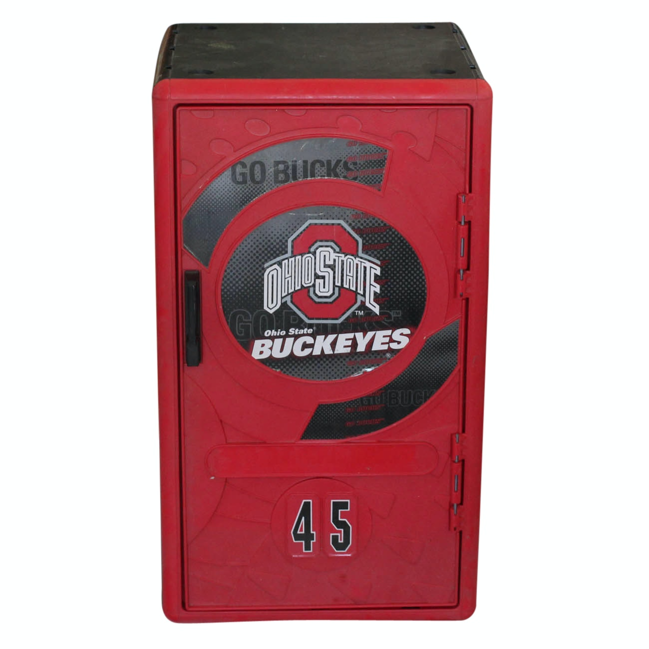 Plastic OSU Buckeyes Locker