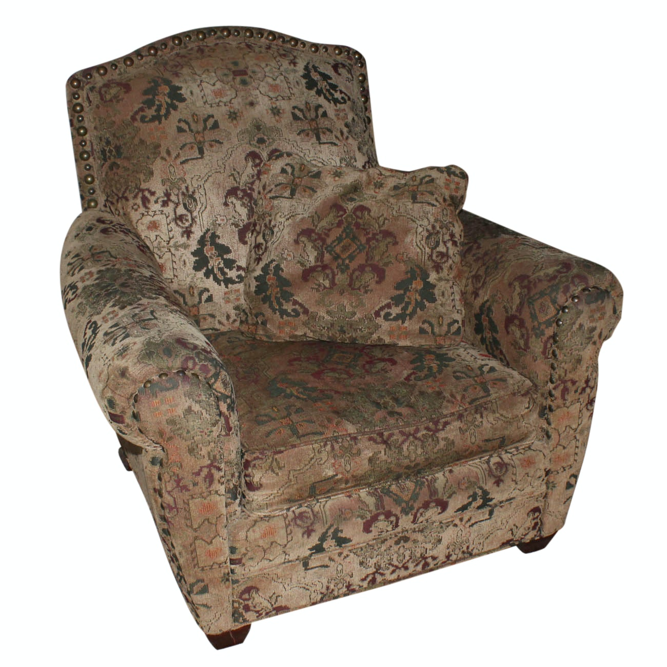 Clayton Marcus Upholstered Arm Chair