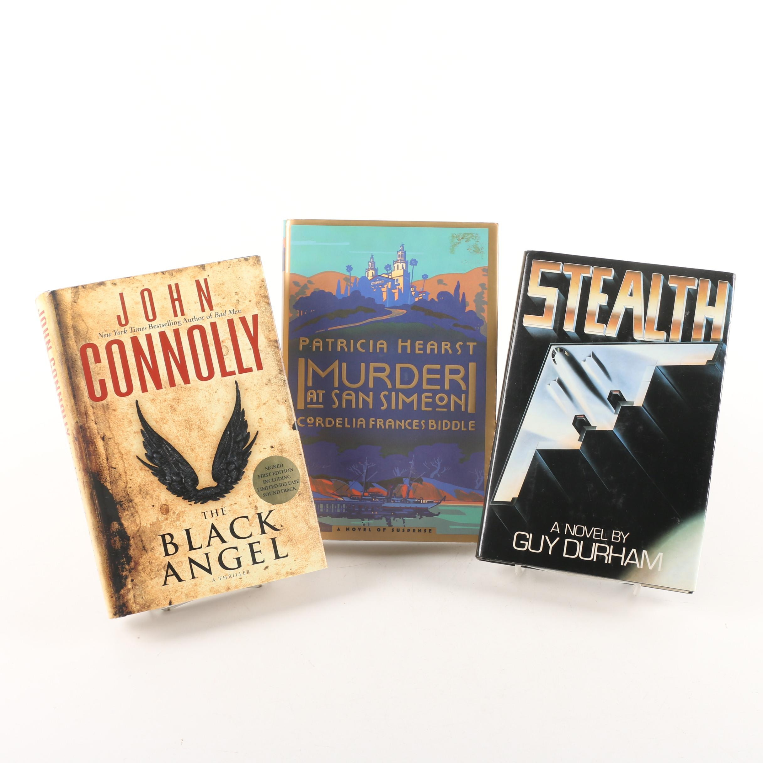 Signed First Printing Novels including John Connolly