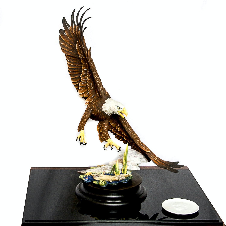"Gunther Granget Eagle Scupture ""Freedom in Flight"""
