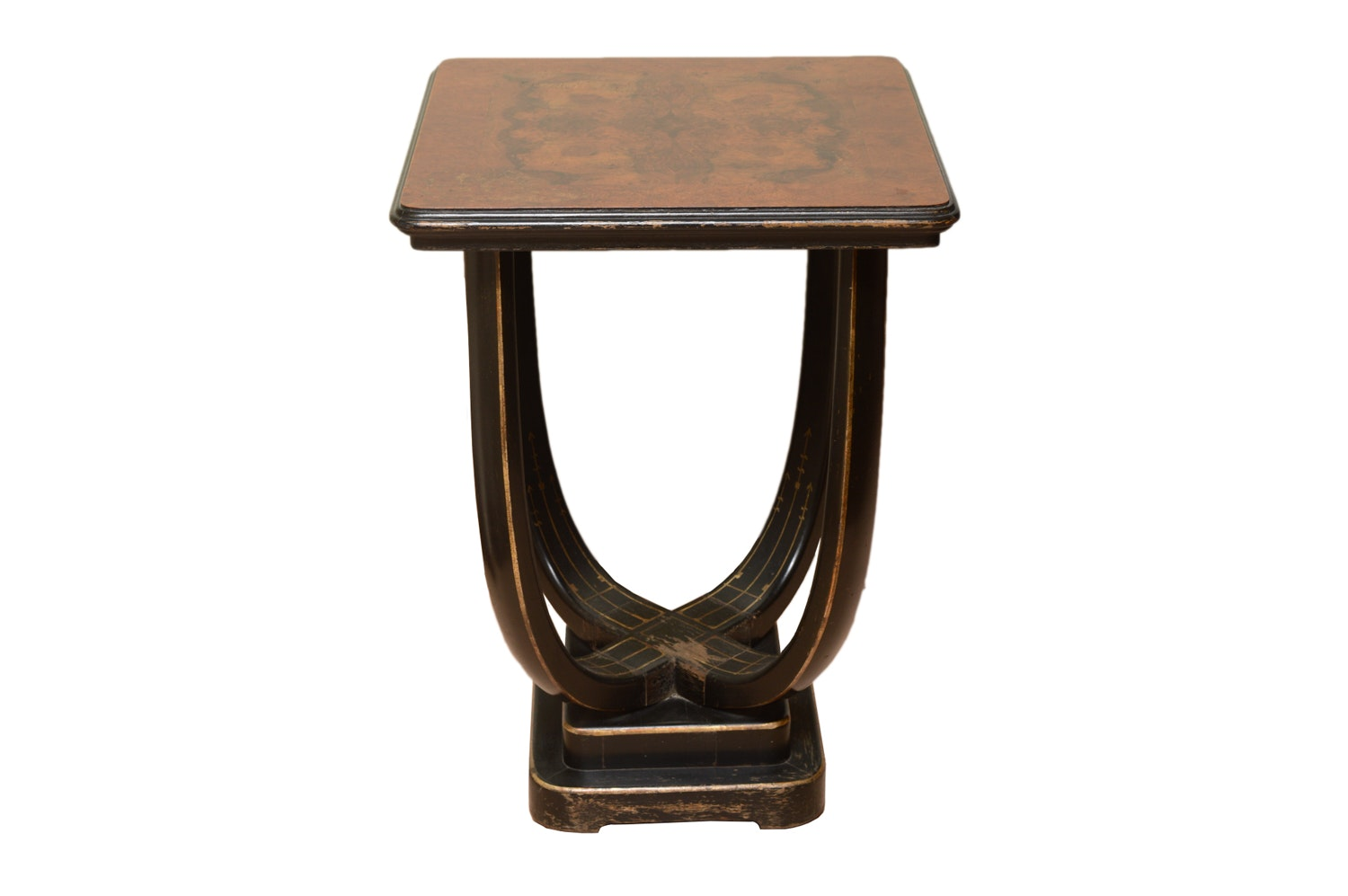 Vintage Art Deco Style Accent Table by Ketcham & Rothschild Inc.
