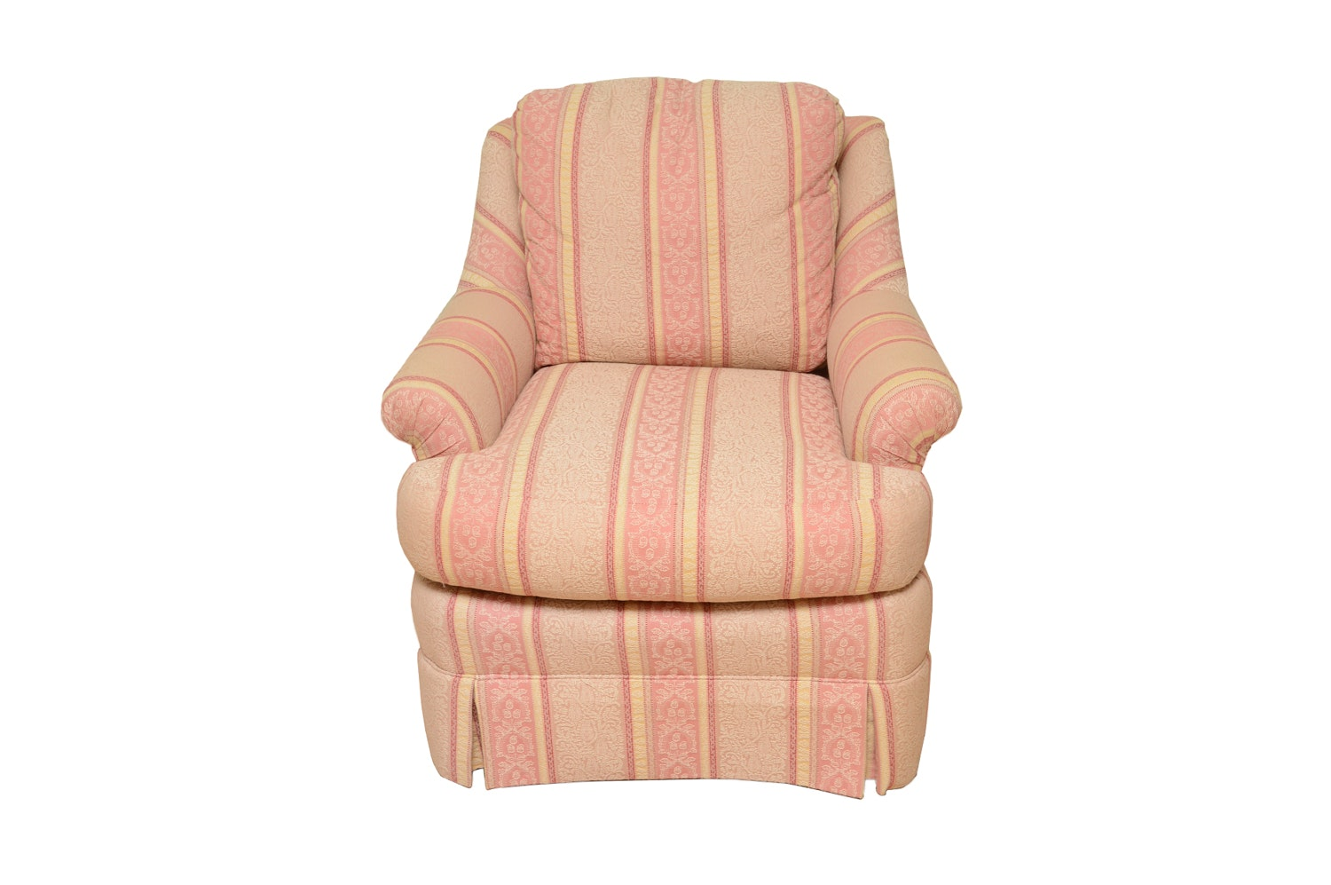 Vintage Upholstered Armchair by Sherrill