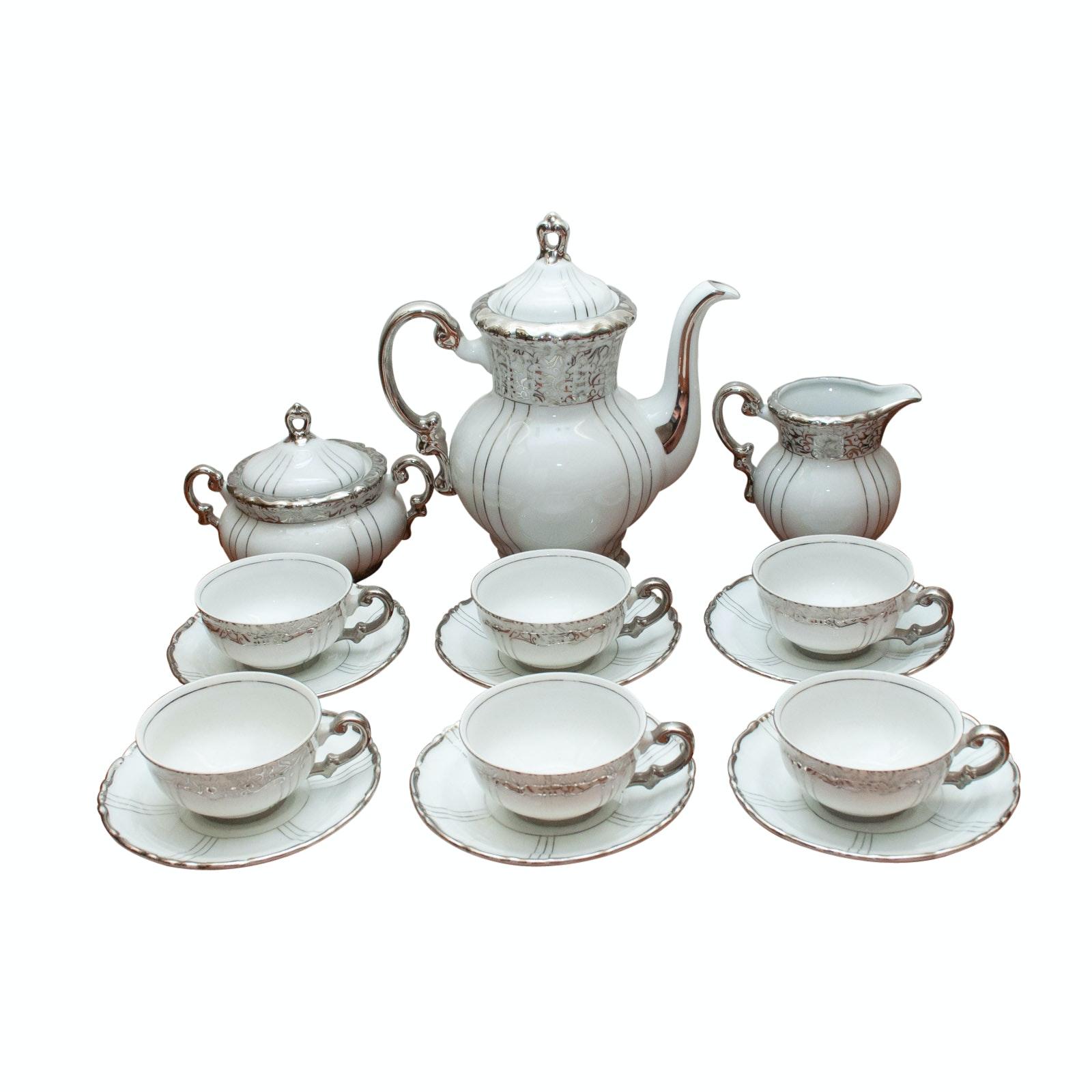 Seyei China Porcelain Tea Set