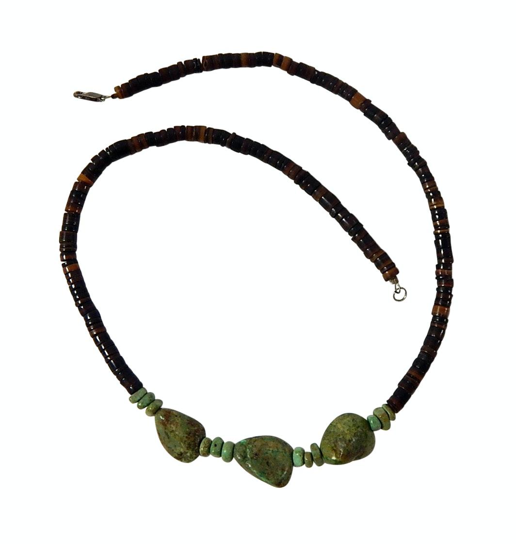"18"" Earthenware Beaded Necklace"