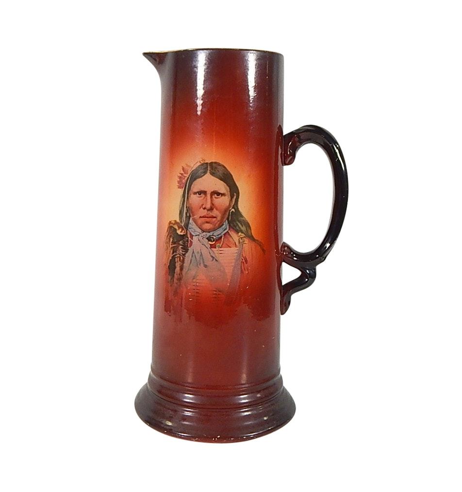 Usona Goodwin Decorative Ceramic Pitcher