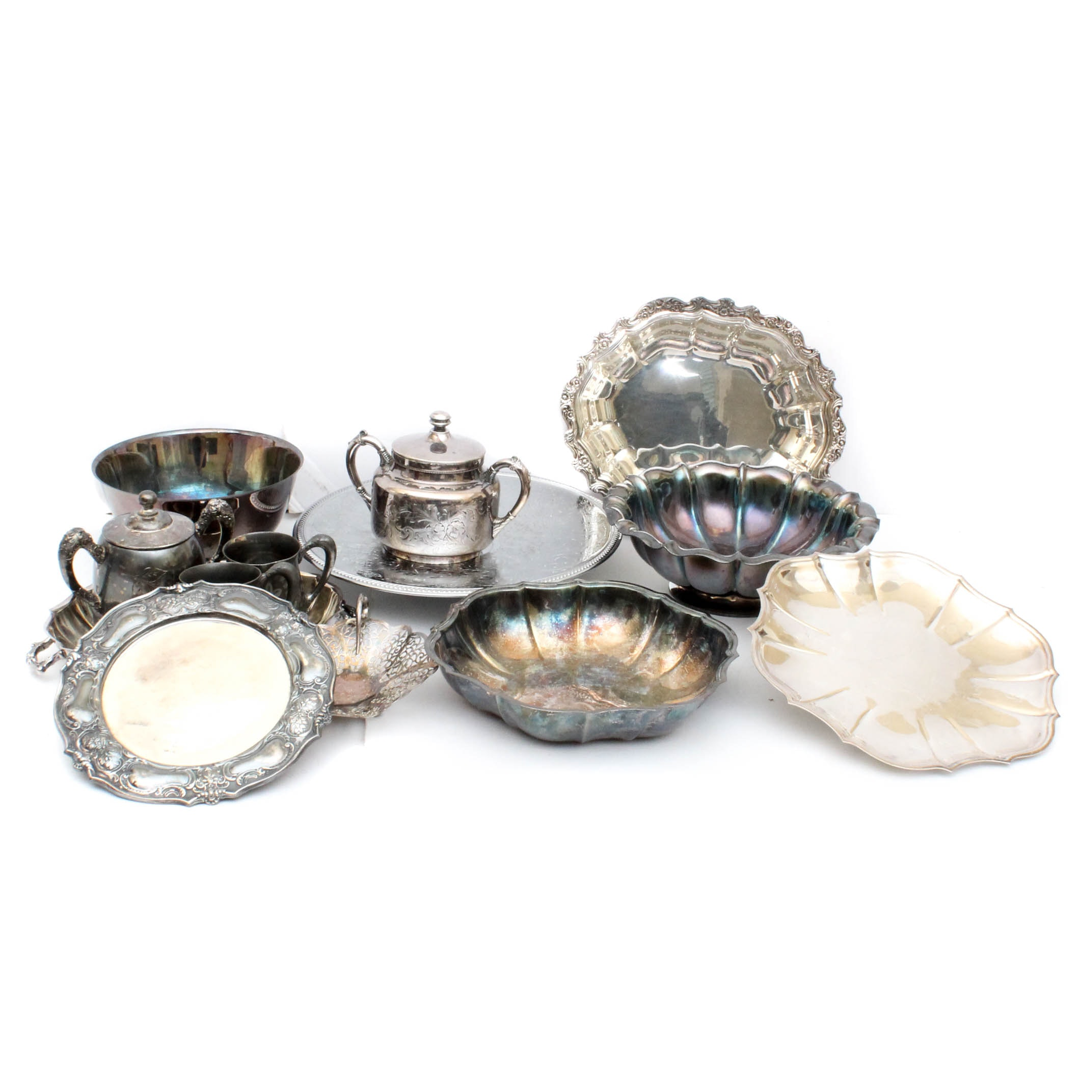 Silver Plated Tableware Featuring International Silver