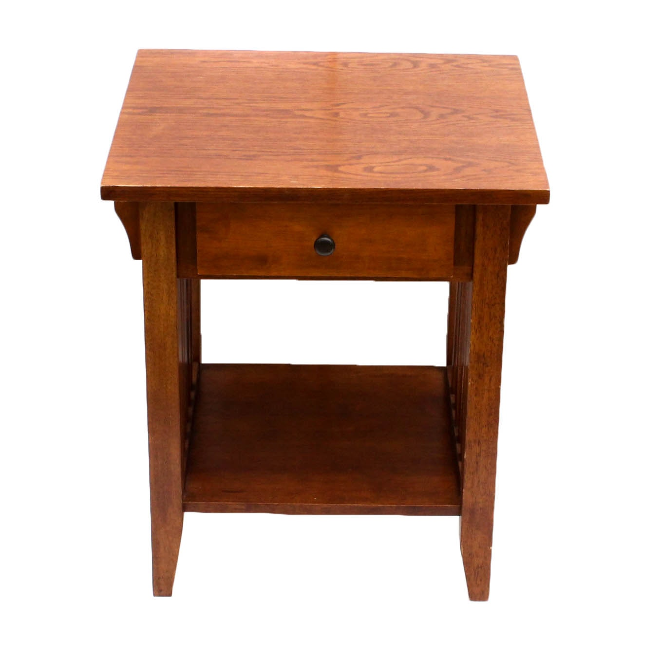 Arts and Crafts Style Oak Side Table