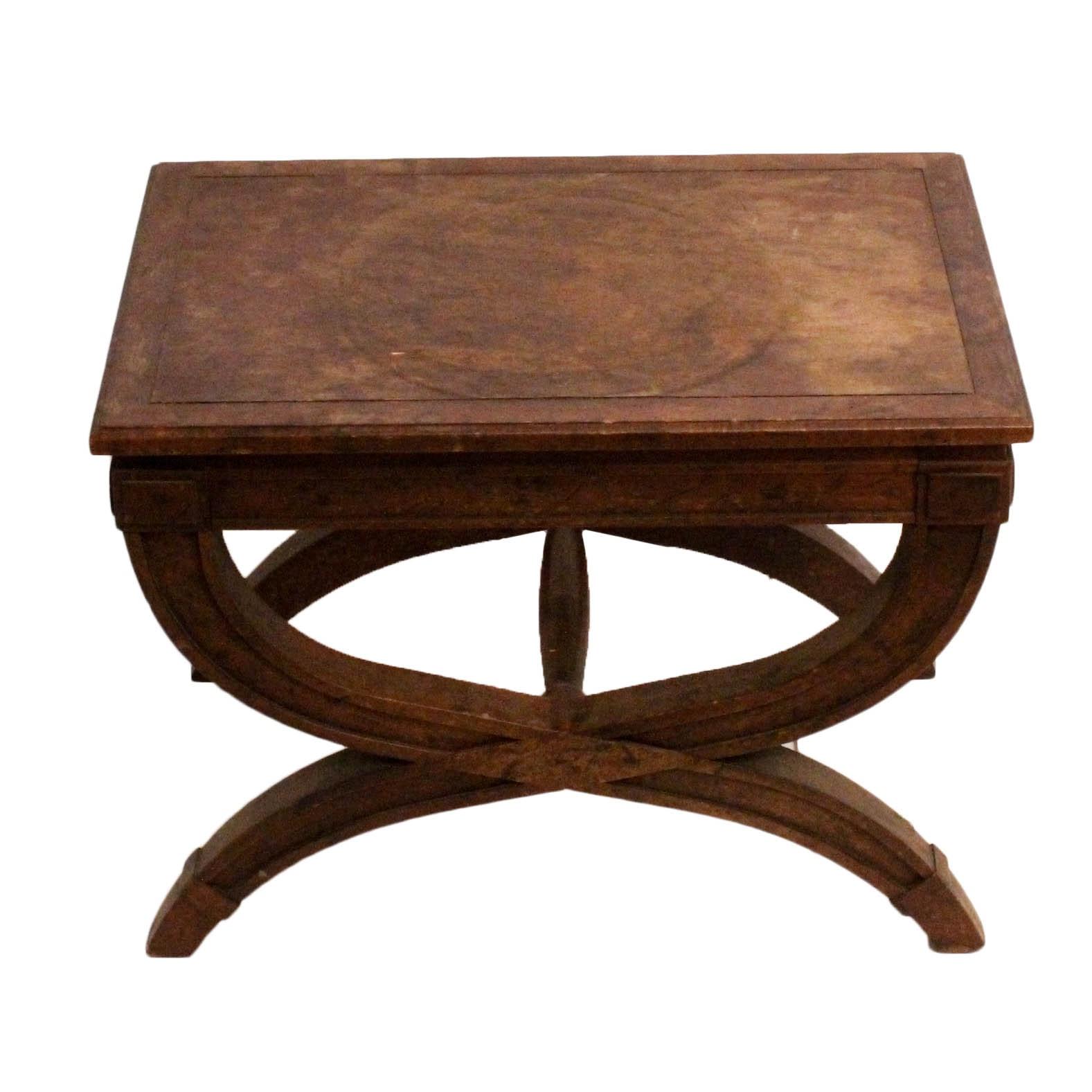 """Vintage Drexel """"Triune-Seventy"""" Accent Table"""