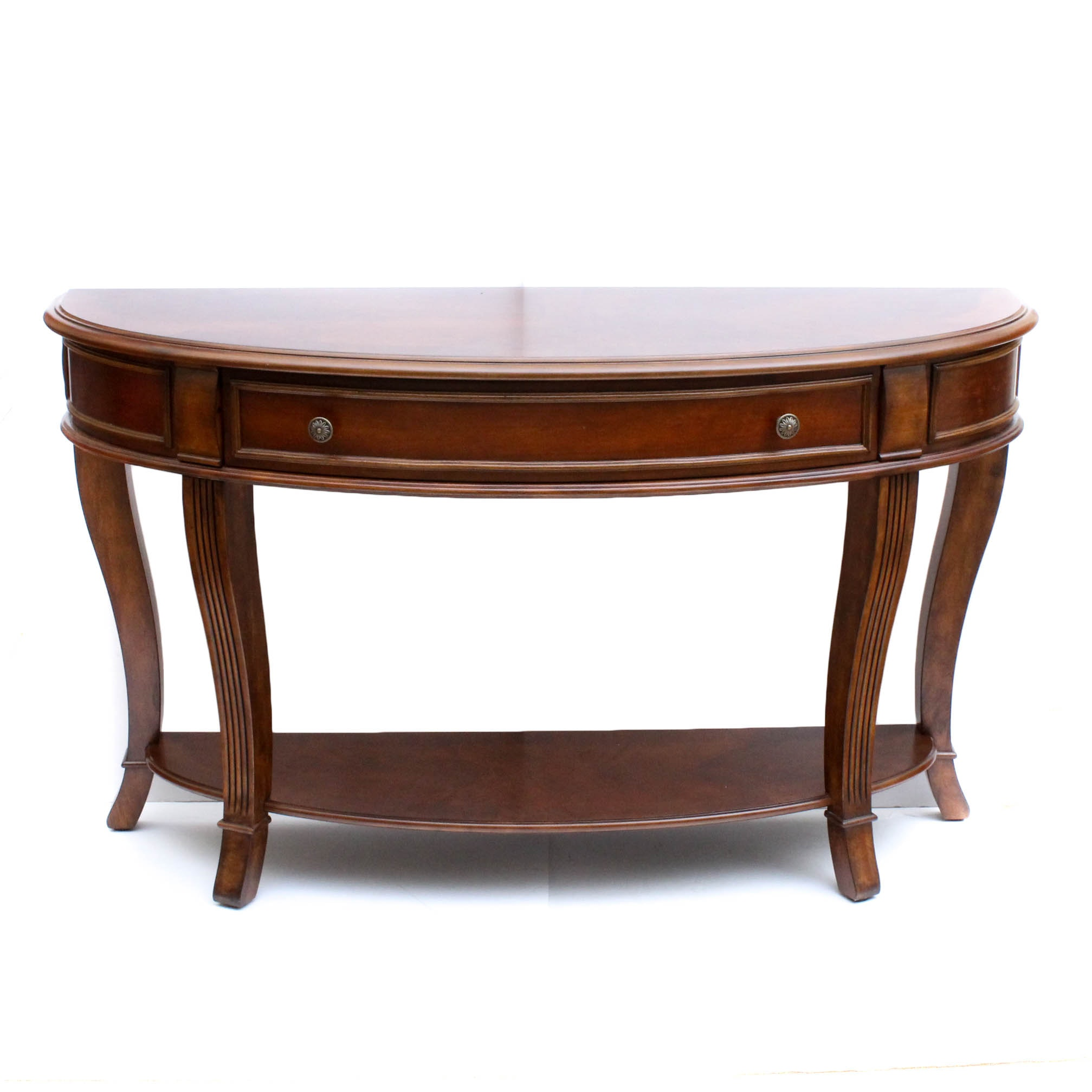 Hooker Furniture Cherry Veneer Hall Table