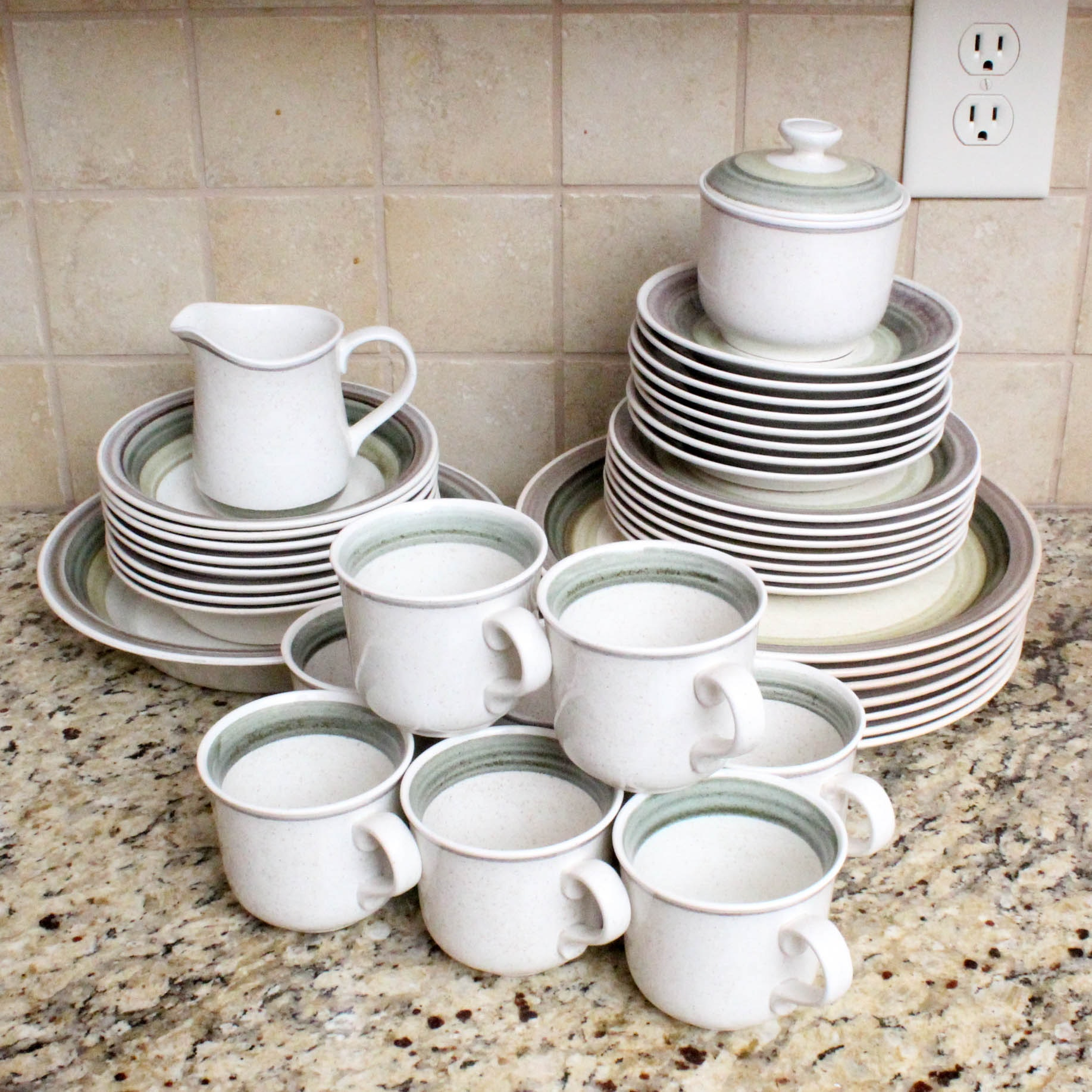"Irish-Made ""Rheinstone"" Tableware by Shannon Aran Stone"