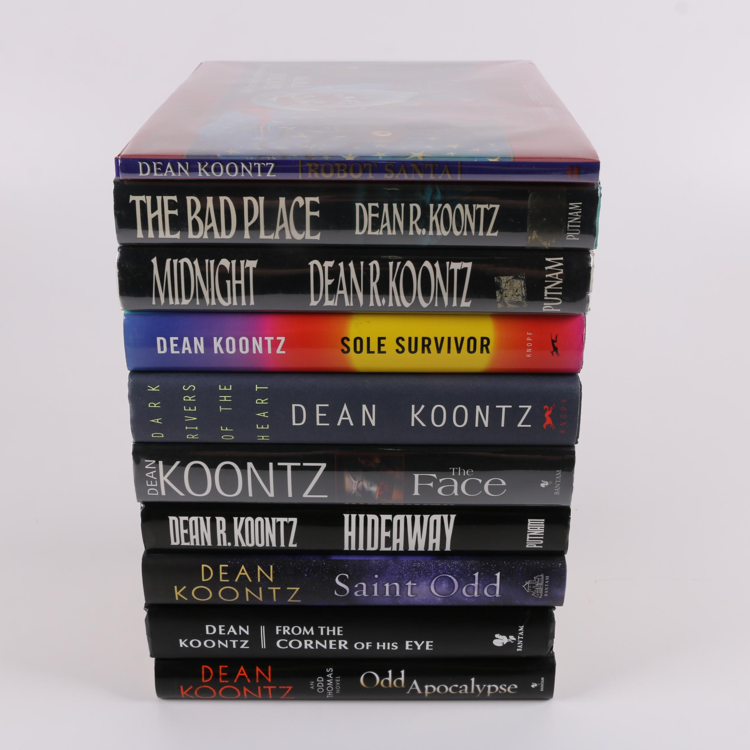 Signed First Edition Dean Koontz Novels and Picture Book