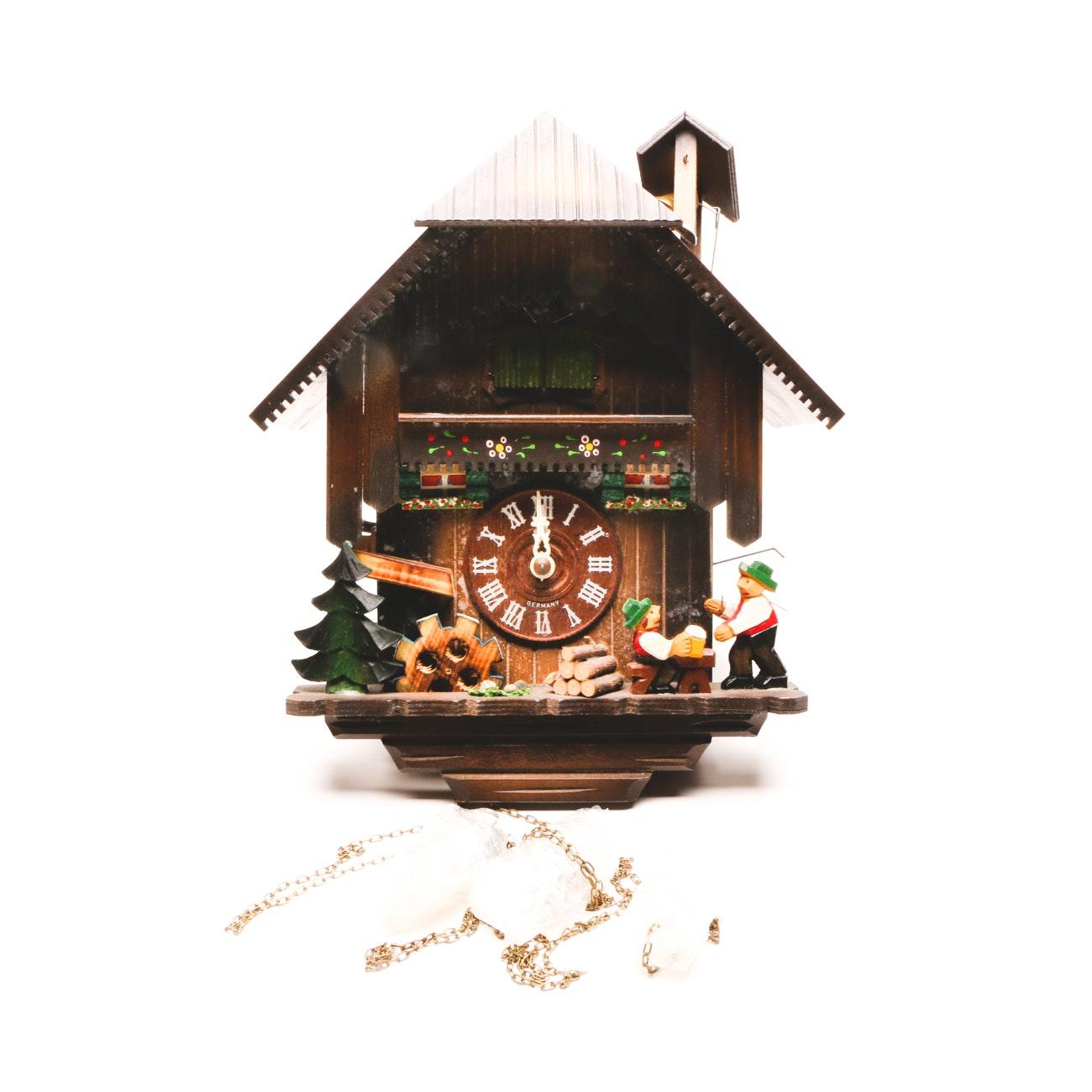"""Romance"" No. 2708 German Cuckoo Clock"