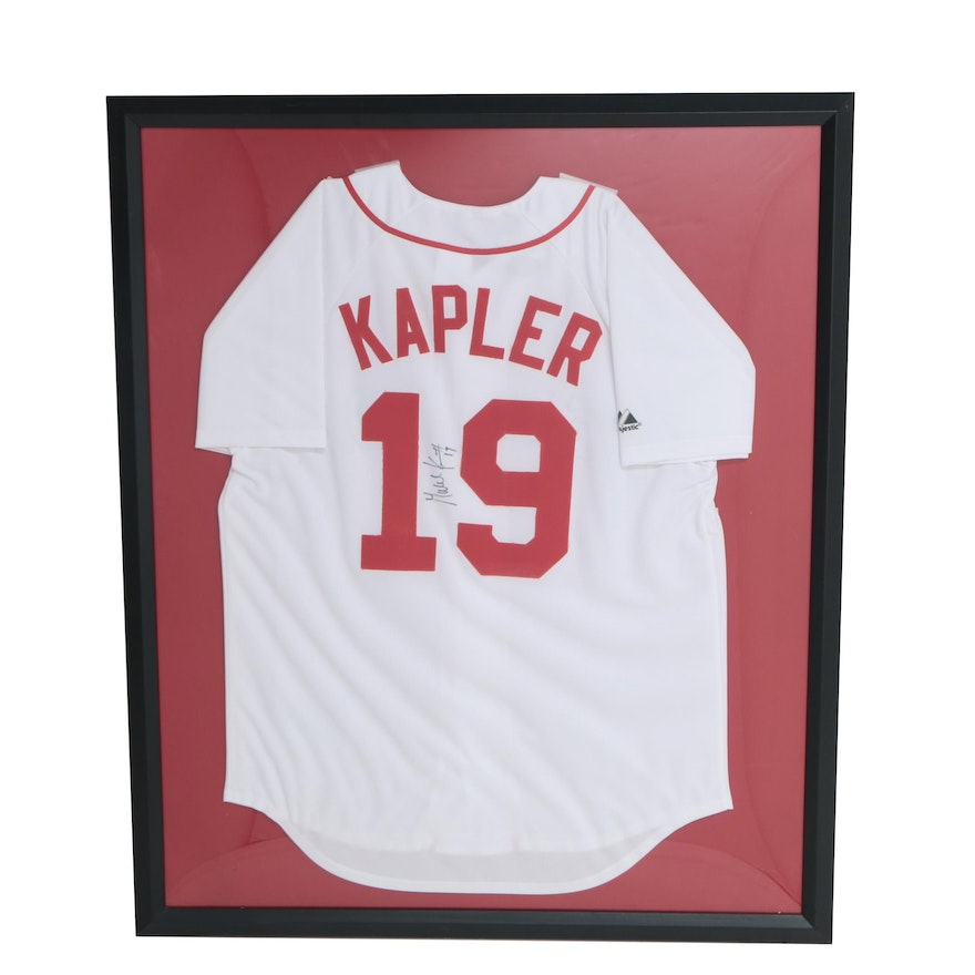 Gabe Kapler Autographed Boston Red Sox Jersey in Frame : EBTH