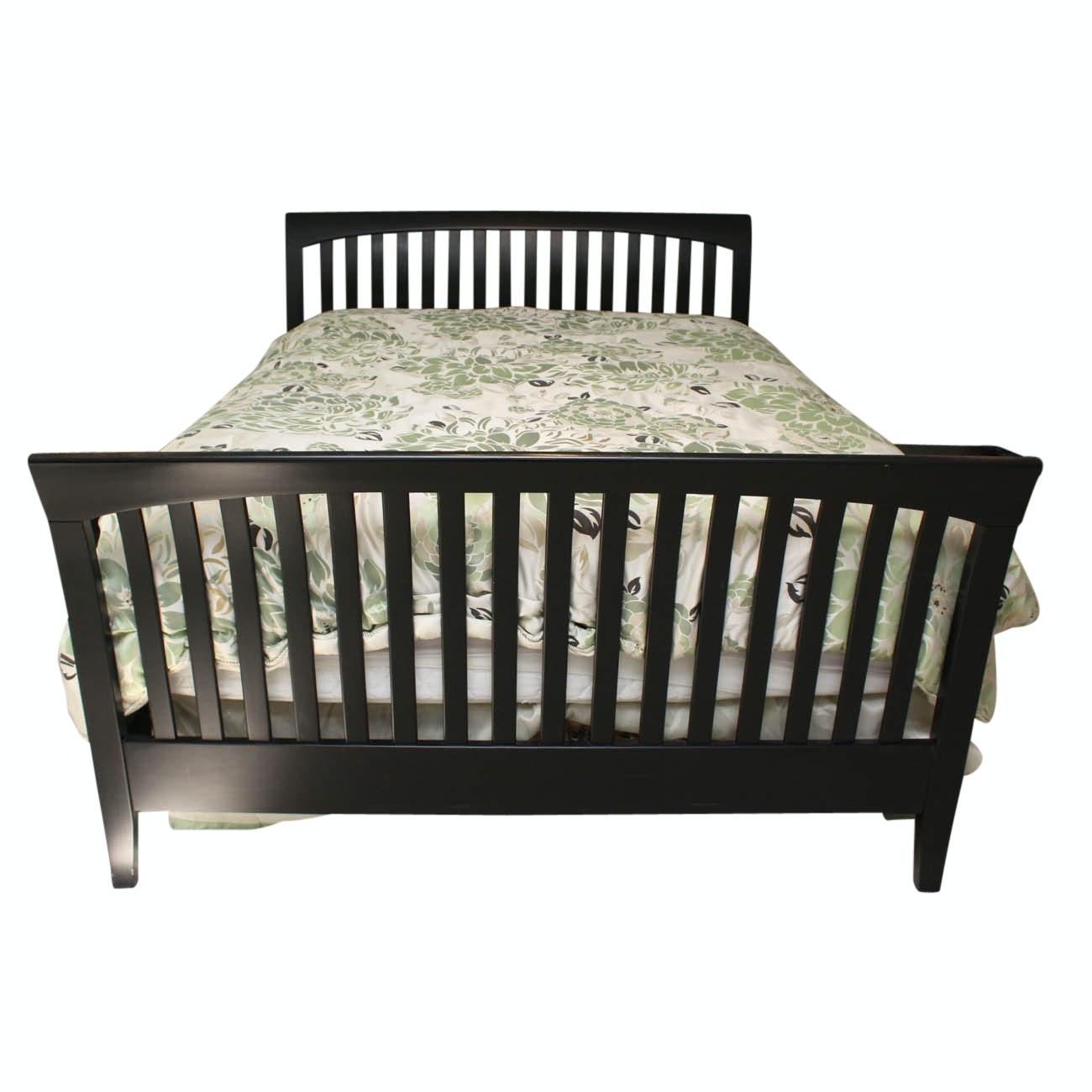 Queen Size Ethan Allen Sleigh Bed