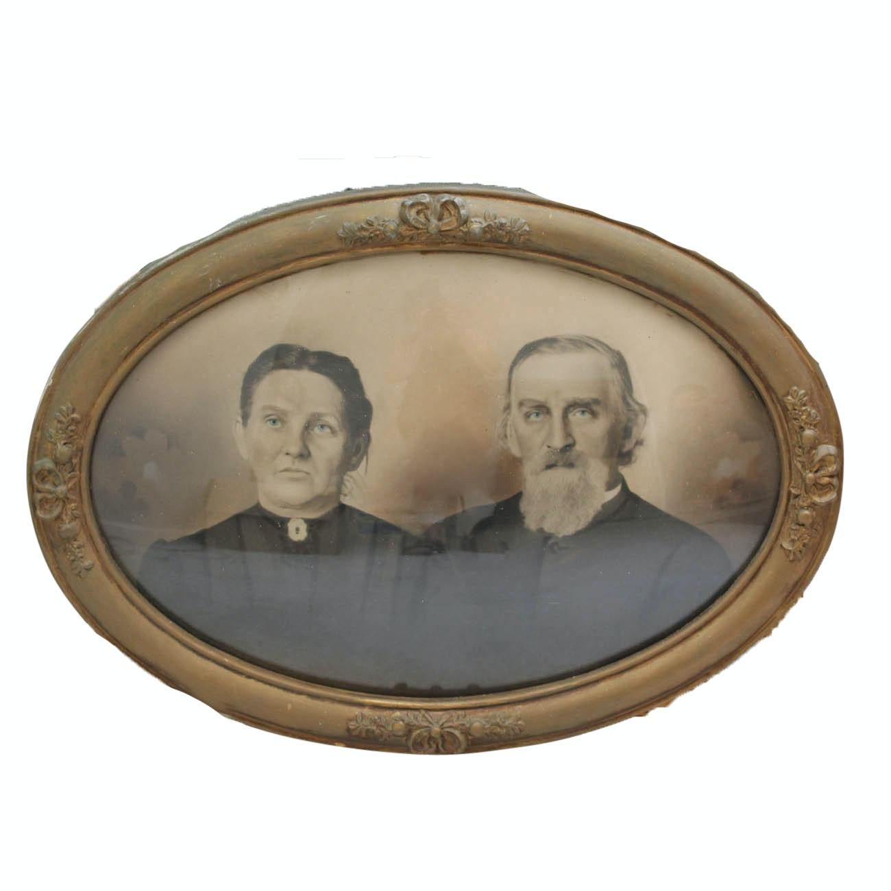 Framed Antique Photograph