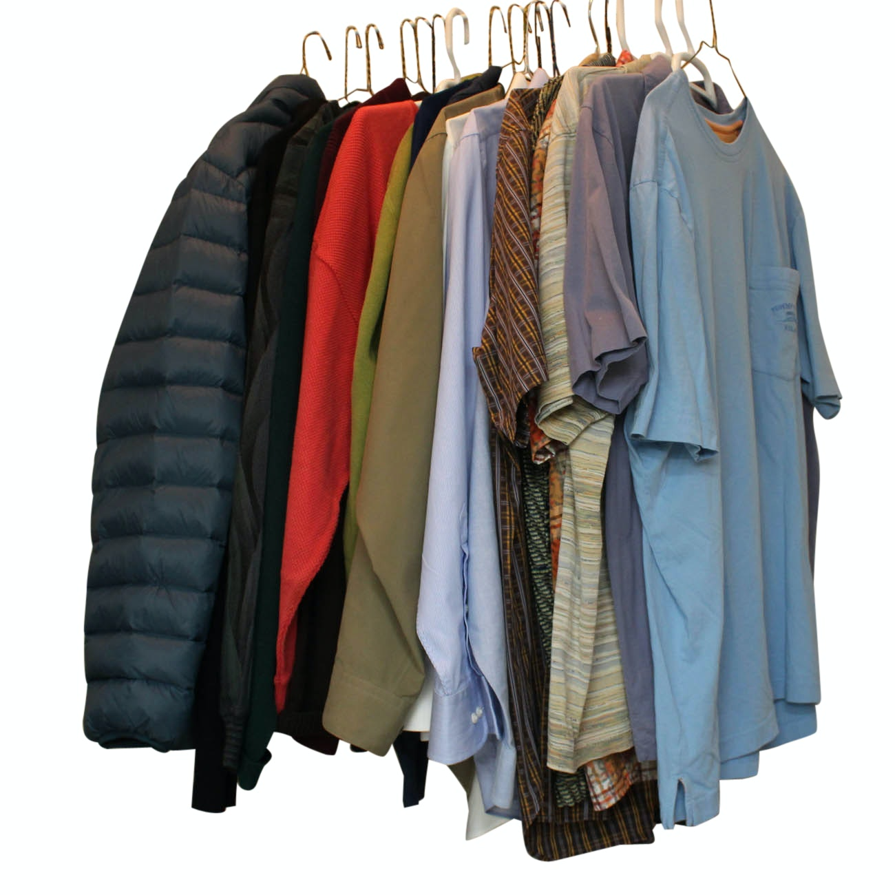 Men's Dress Shirts, Sweaters and Jacket Including Façonnable & Tommy Hilfiger