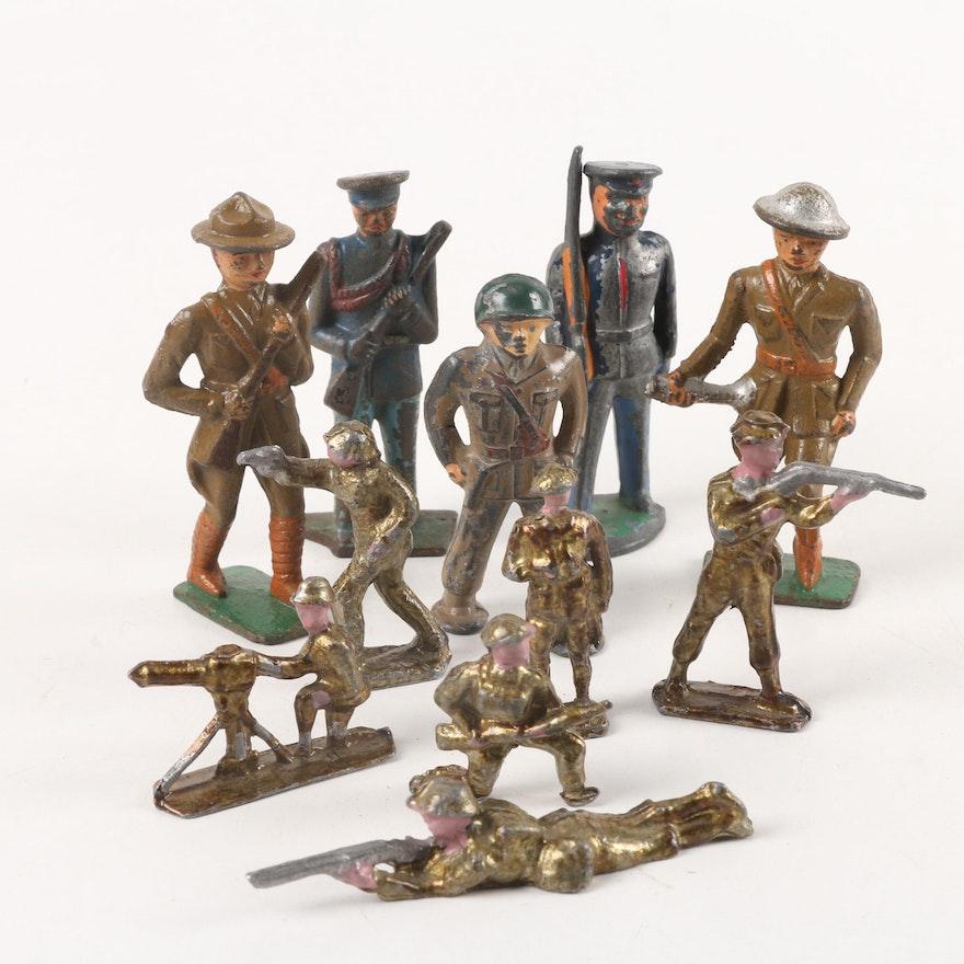 Vintage Cast Metal Toy Solrs Ebth