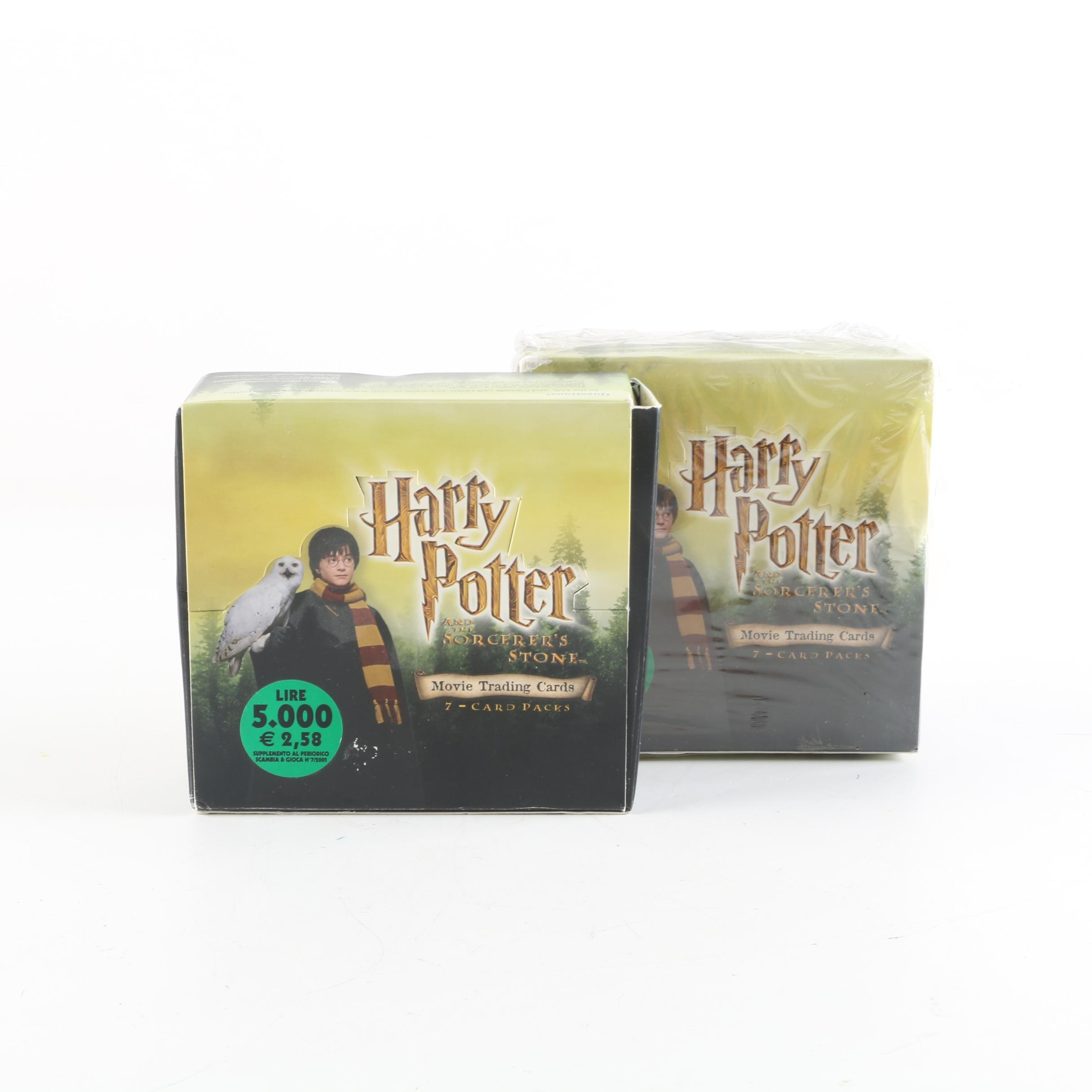 """""""Harry Potter and the Sorcerer's Stone"""" Movie Trading Cards"""