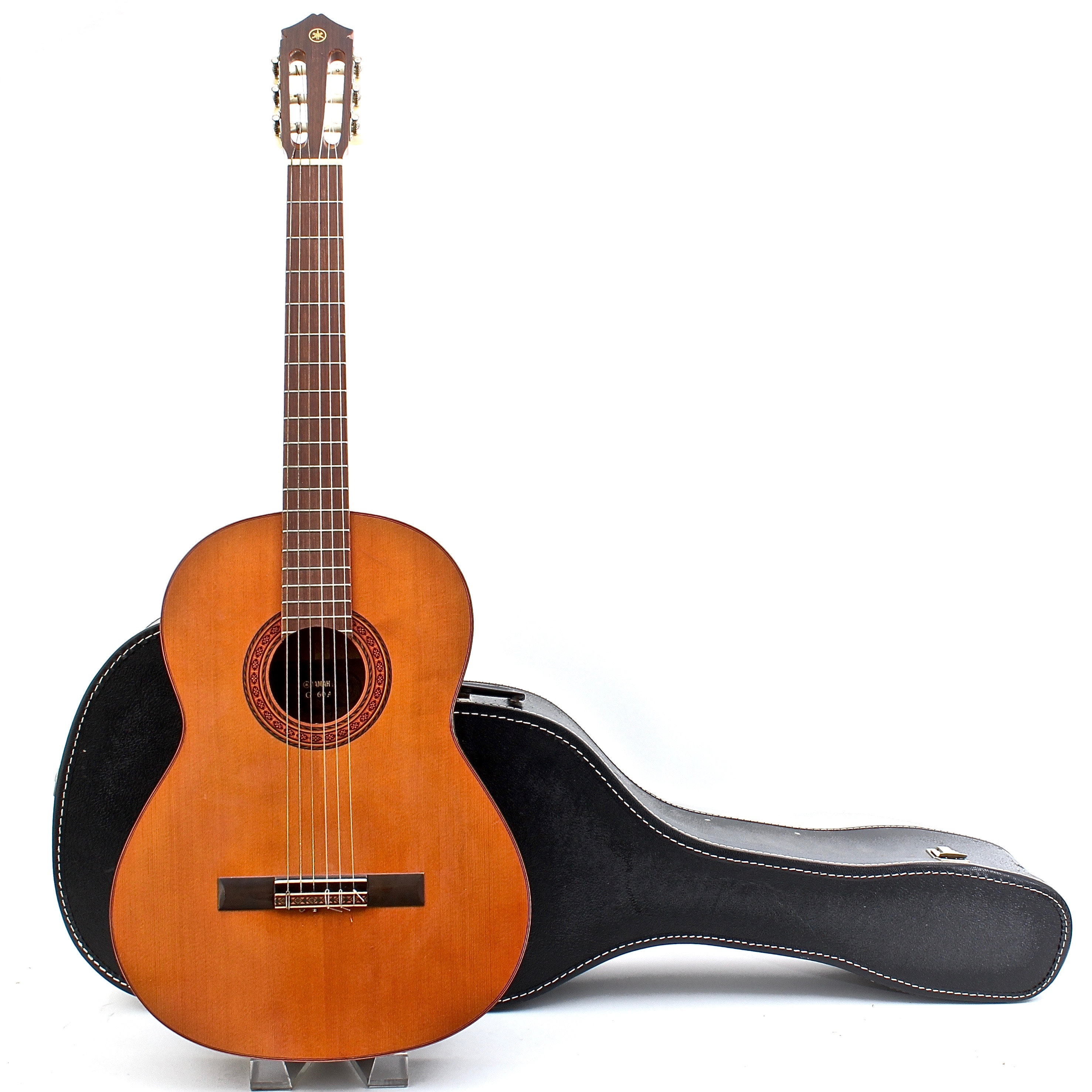 Yamaha Acoustic Six String Guitar and Case
