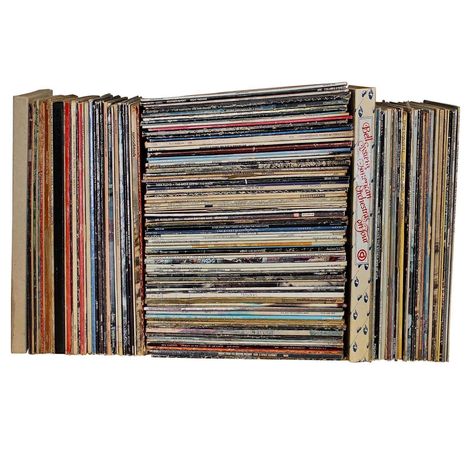 Record Album Assortment