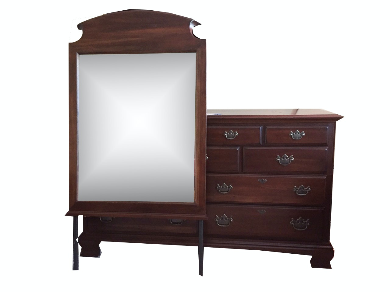 Kincaid Solid Wood Chest of Drawers and Mirror