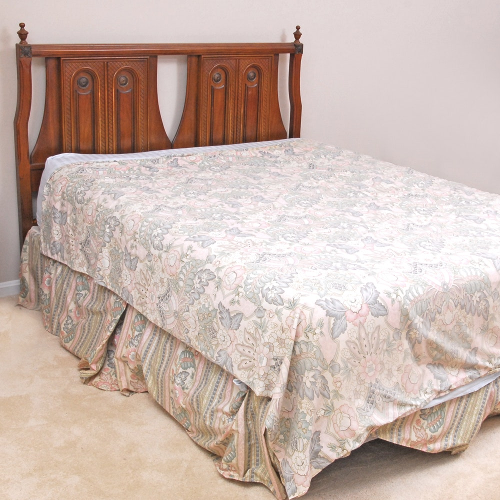 """""""Cortese"""" Queen Size Bed Frame by Bassett Furniture"""